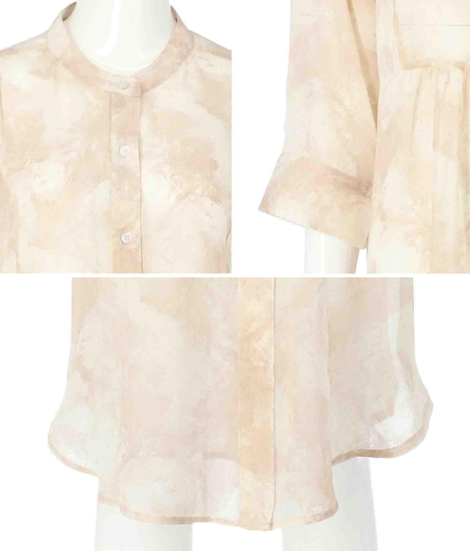 シアーニュアンスシャツ(トップス/チュニック・シャツ・ブラウス) | Alluge