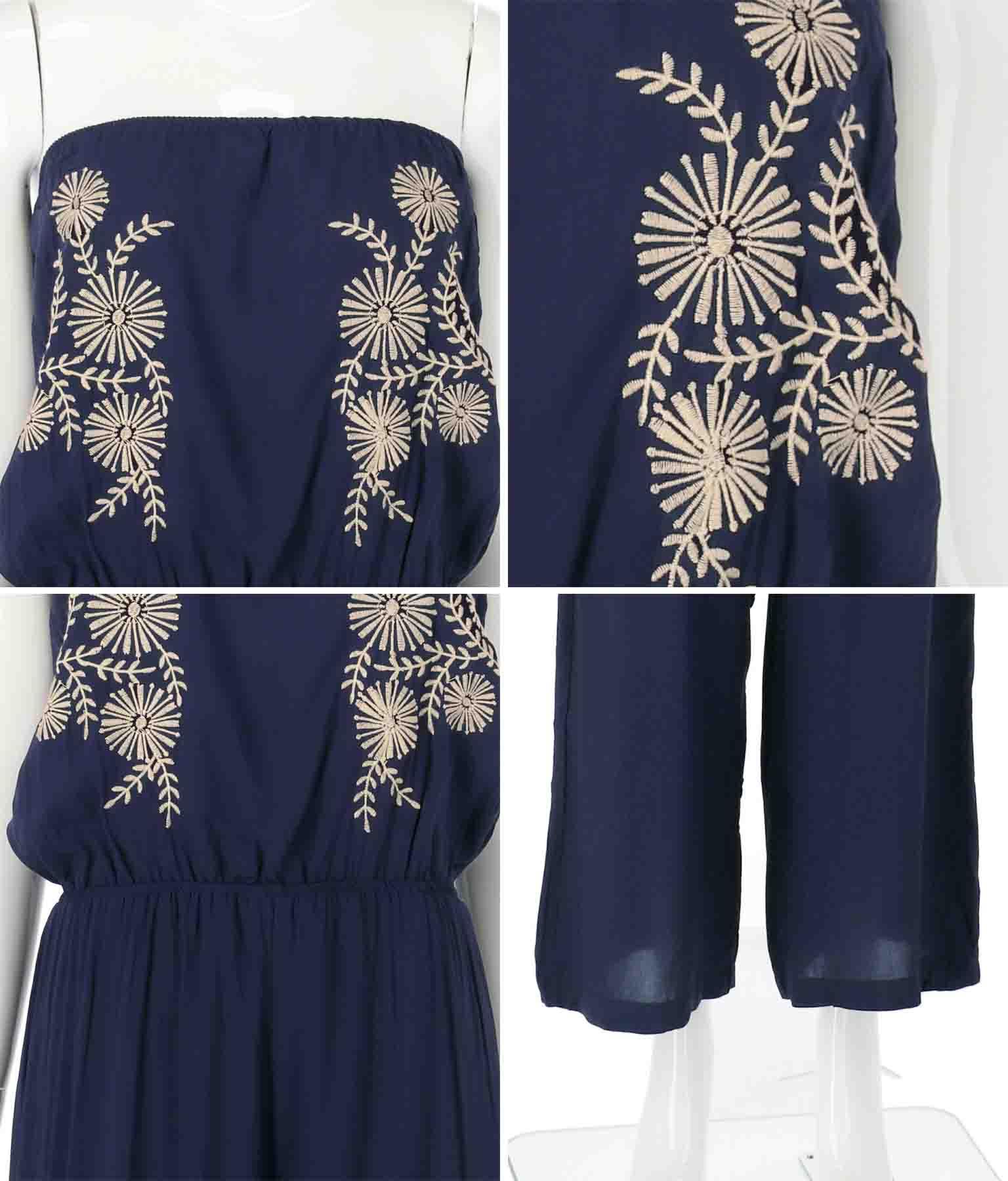 刺繍ベアサロペット(ワンピース・ドレス/サロペット/オールインワン)   anap mimpi