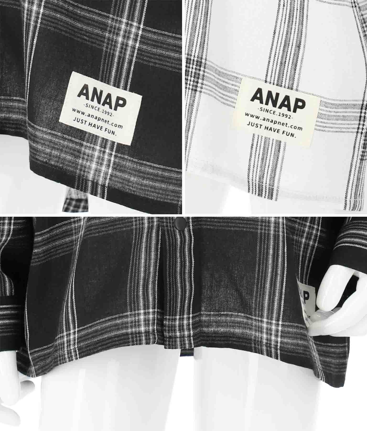 チェックシャツ | ANAP KIDS