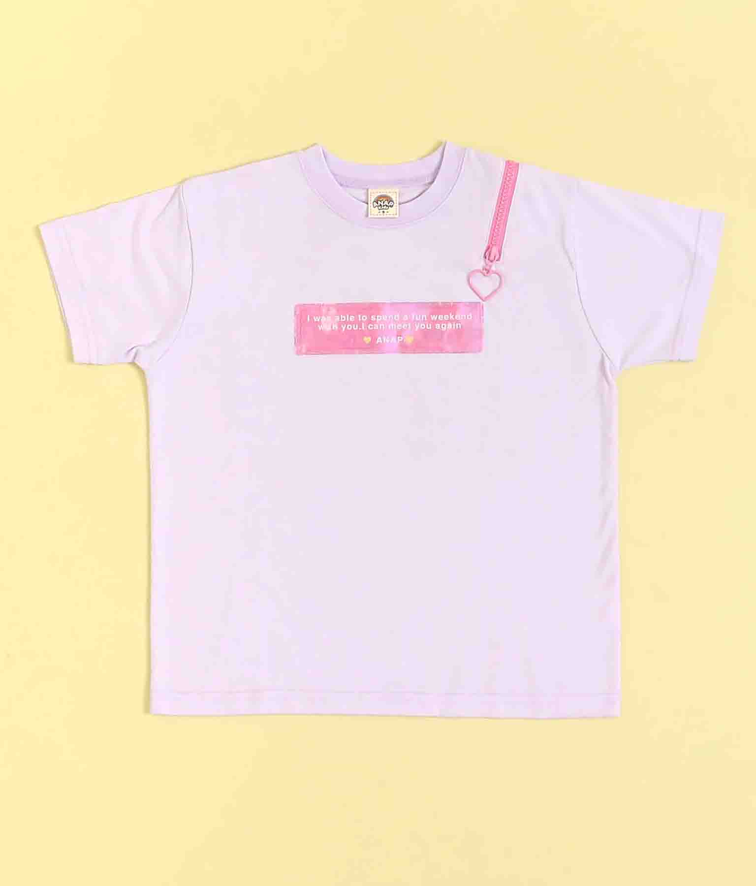 ハートジップトップス(トップス/Tシャツ)   ANAP KIDS