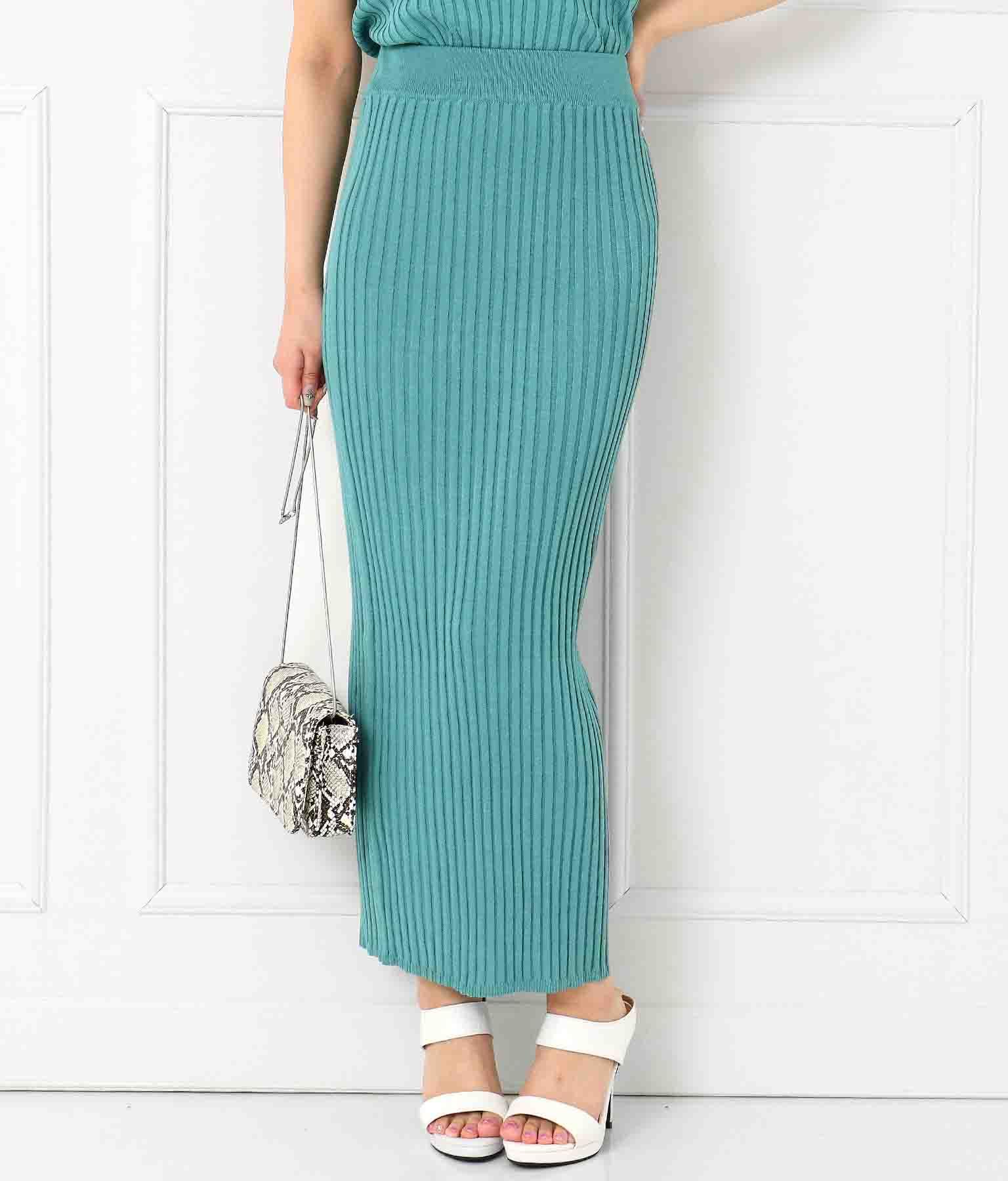 ワイドリブベアトップ×マキシスカート(トップス/ブラ・チューブ・ベアトップ・スカート) | anap Latina
