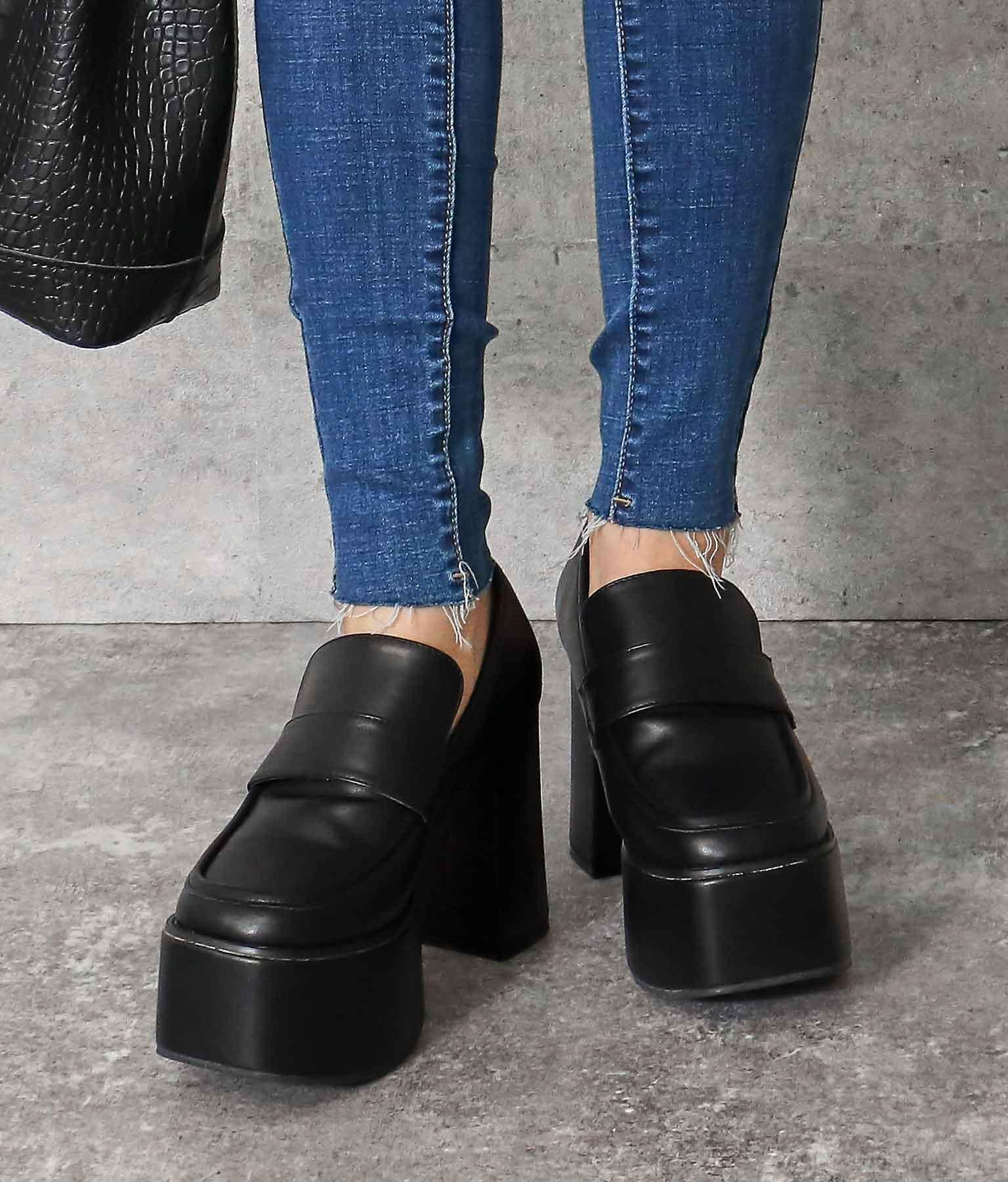 厚底ローファー(シューズ・靴/パンプス) | ANAP