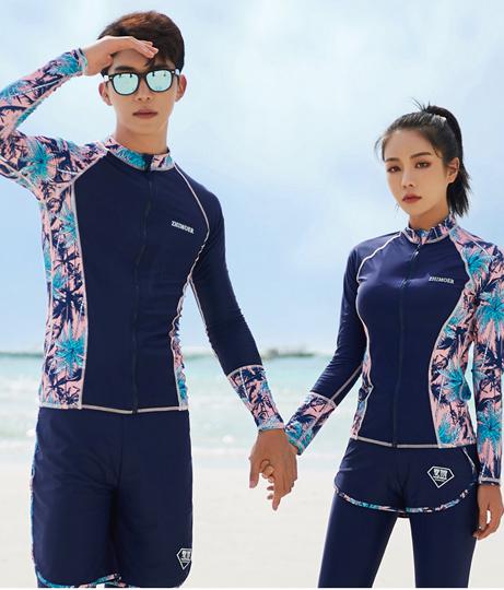メンズ フィットネス水着3点セット(水着/ボードショーツ・ラッシュガード・水着セット) | HOYUKI