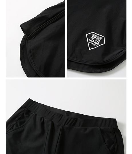 メンズ フィットネス水着3点セット(水着/レギンス・ボードショーツ・ラッシュガード・水着セット) | HOYUKI