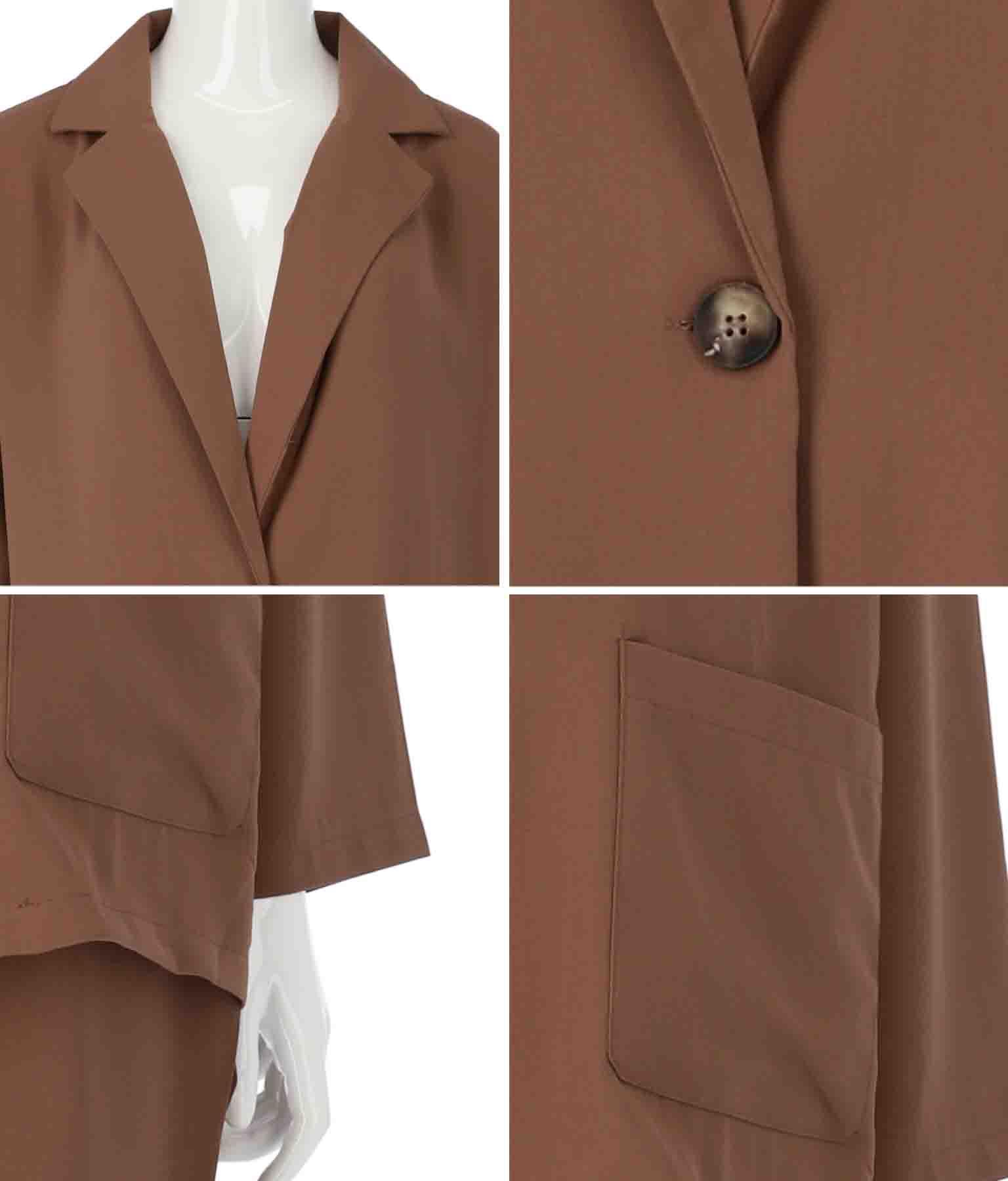 ジャケット+イージーパンツセットアップ(ボトムス・パンツ /ロングパンツ・ジャケット・ブルゾン) | ANAP