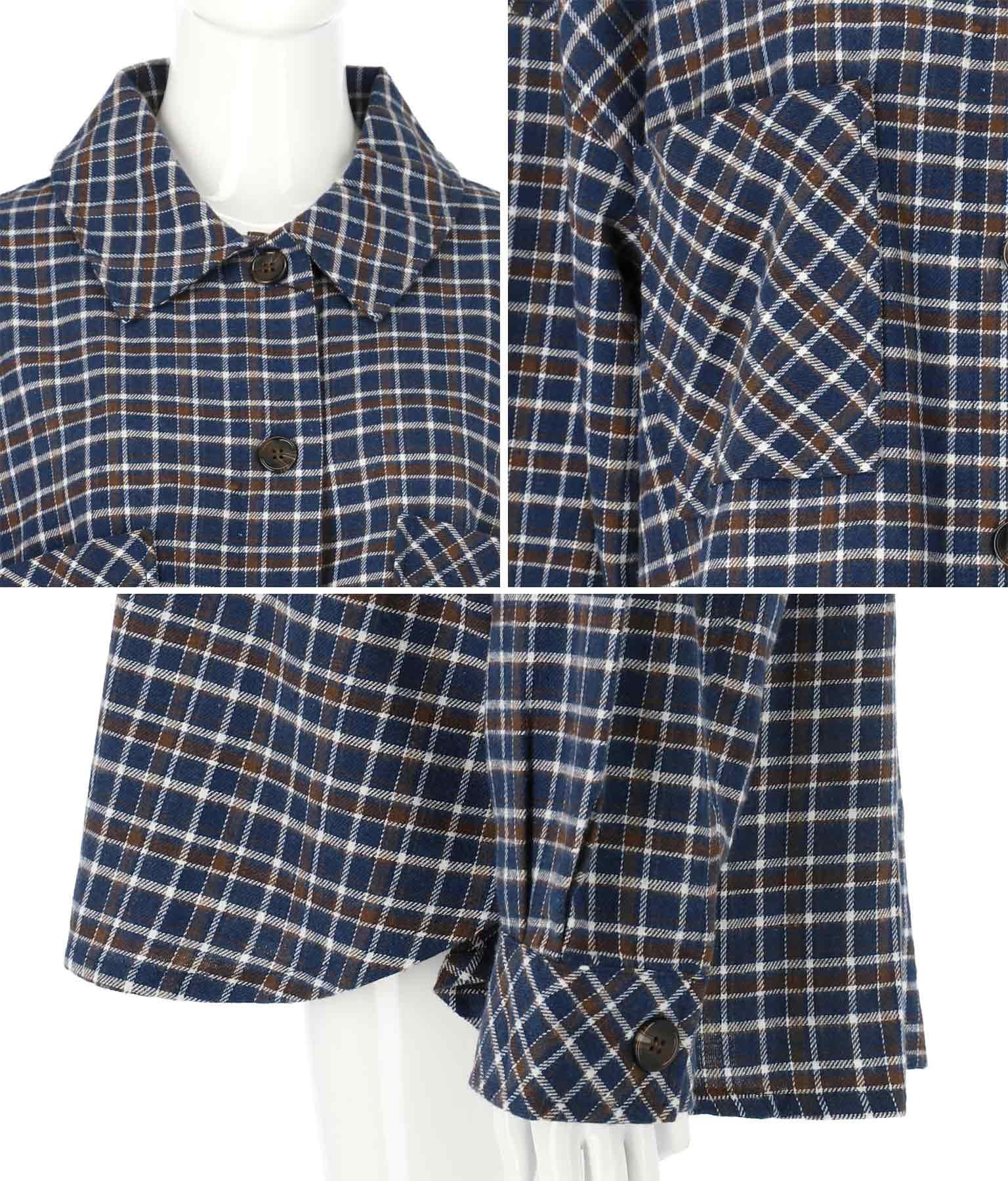オーバーサイズチェックシャツ | anap mimpi