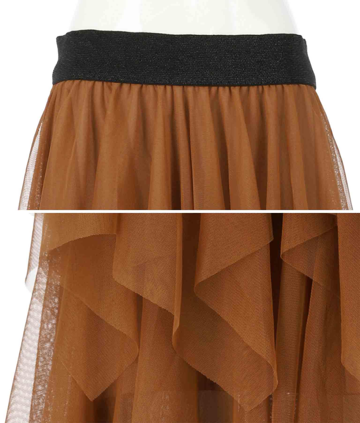 ランダムティアードデザインチュールスカート(ボトムス・パンツ /スカート) | Settimissimo