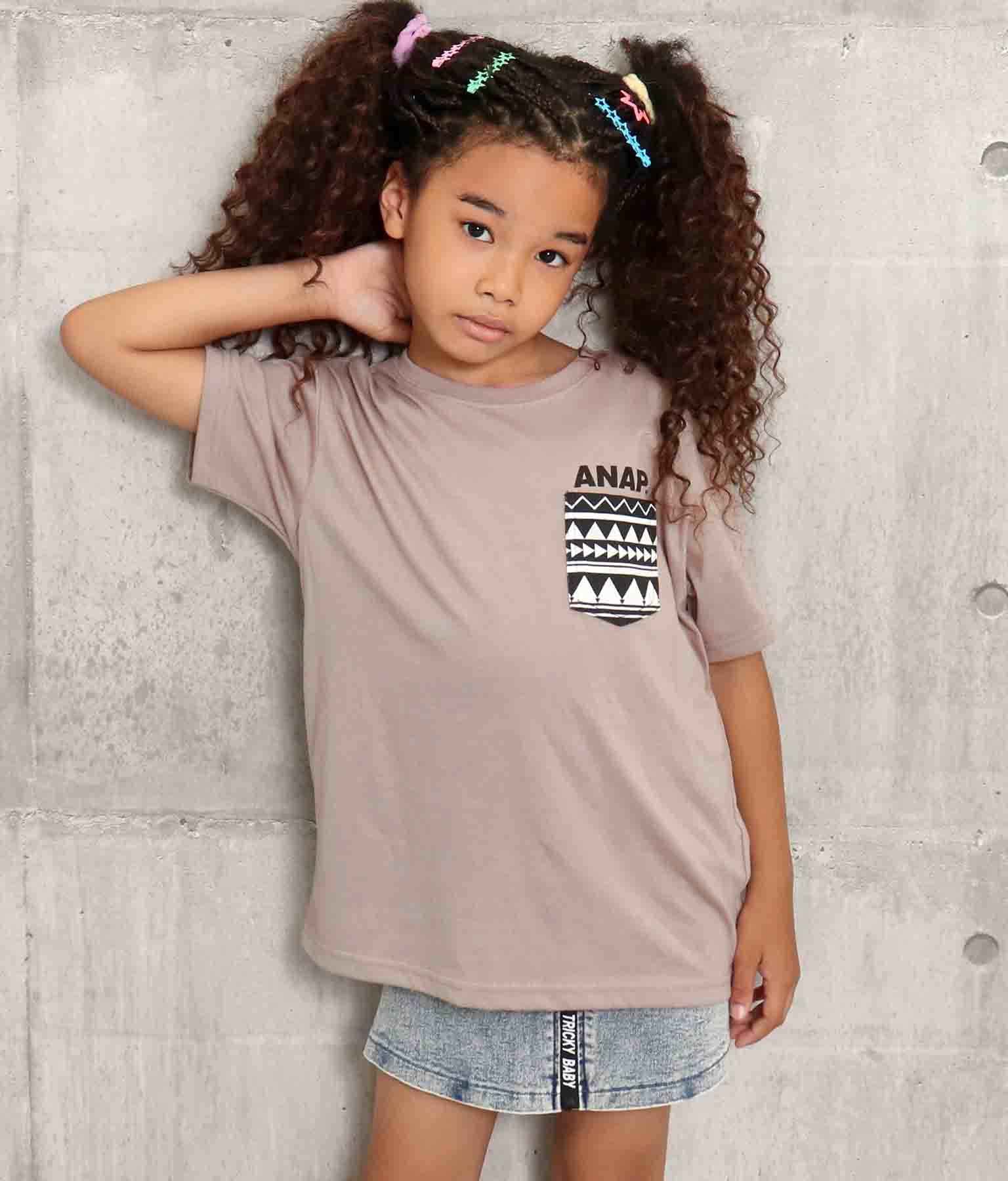 胸ポケットTシャツ | ANAP KIDS