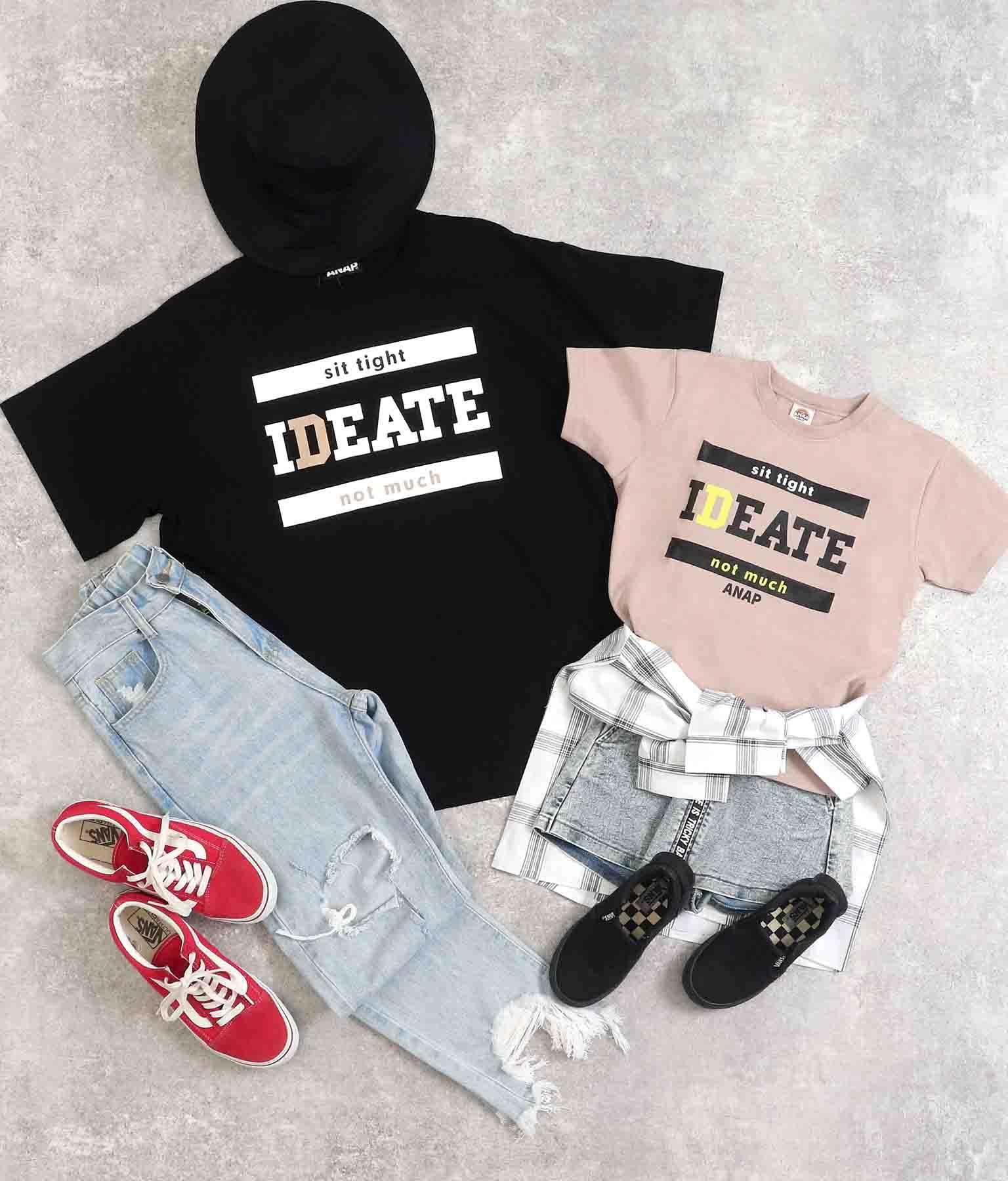 プリントビッグTシャツ | ANAP KIDS