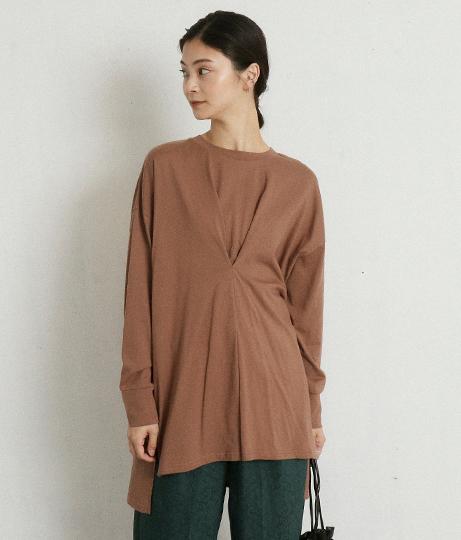 タックワイドプルオーバー(トップス/Tシャツ・カットソー ・ロングTシャツ) | AULI