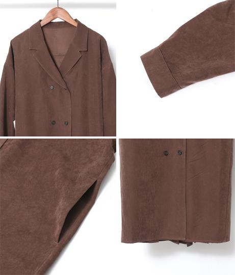 バックプリーツワンピース(ワンピース・ドレス/ミディアムワンピ) | AULI