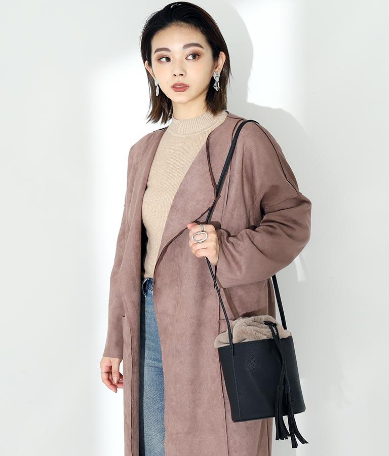 エコファー巾着バケツ型バッグ(バッグ・鞄・小物/ショルダーバッグ) | Settimissimo