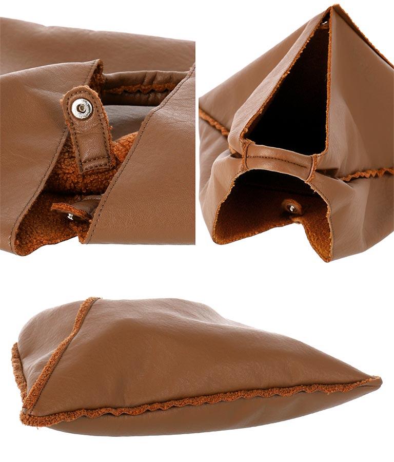 ボアパイピングデザインバッグ(バッグ・鞄・小物/ハンドバッグ・トートバッグ) | Settimissimo