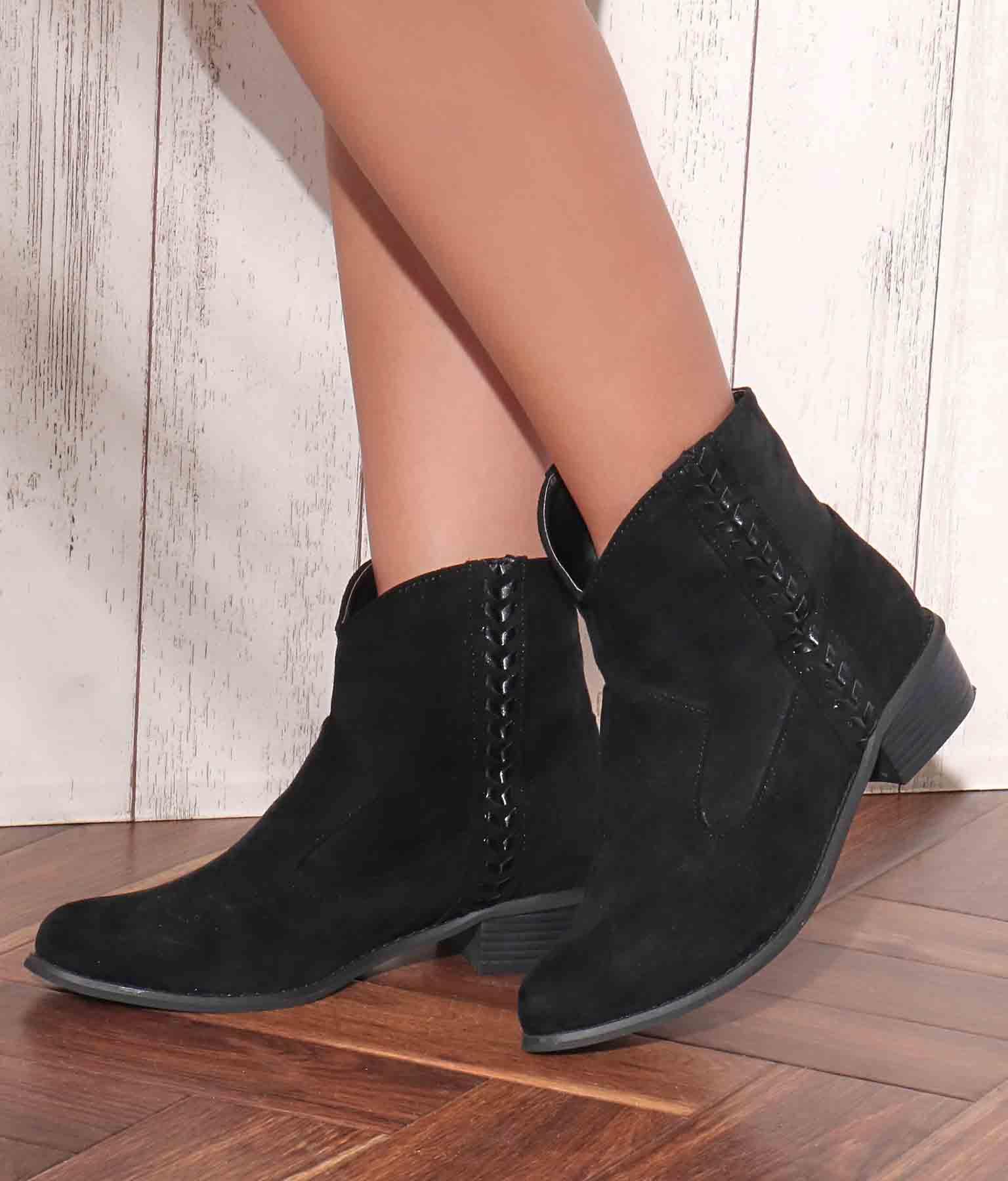 ダミスエステッチウエスタンブーツ(シューズ・靴/ブーツ) | anap mimpi