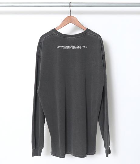 バックPT.ロゴロングTシャツ | Factor=