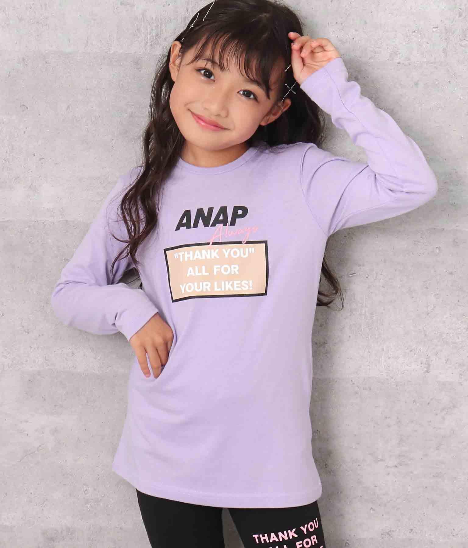 ボックスデザインプリントチュニック | ANAP KIDS