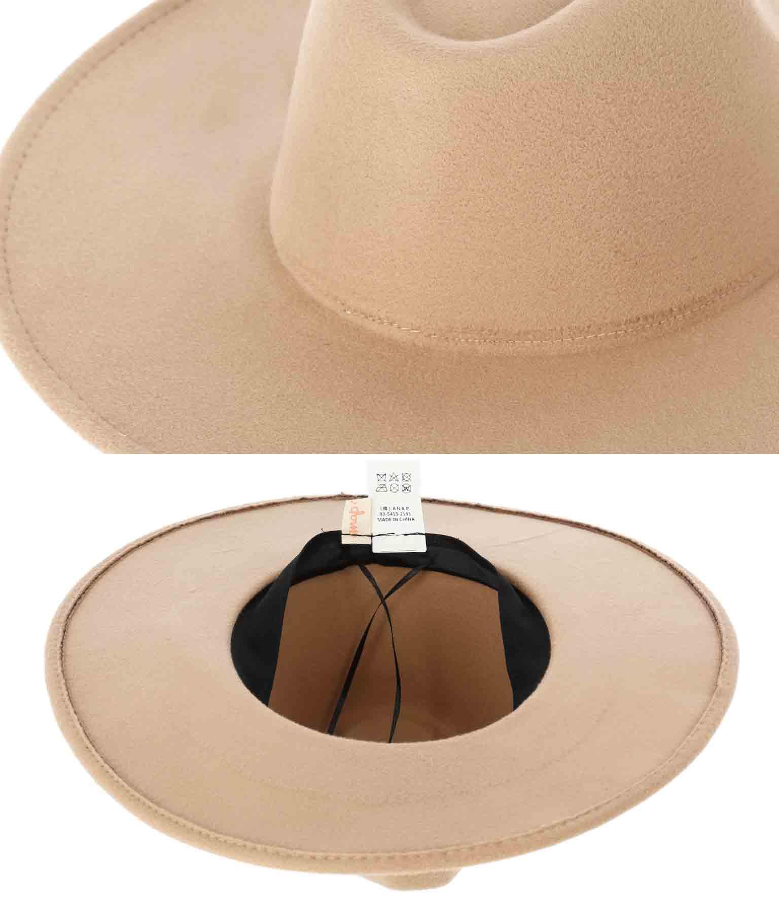 つば広中折れハット(ファッション雑貨/ハット・キャップ・ニット帽 ・キャスケット・ベレー帽) | anap mimpi
