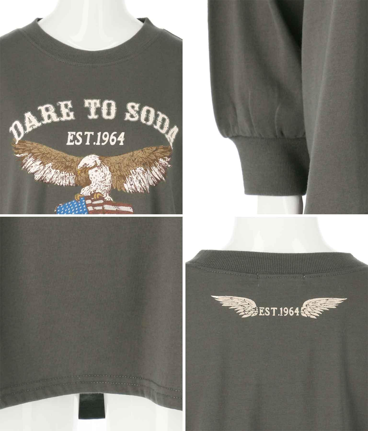 イーグルプリントロングTシャツ | anap mimpi