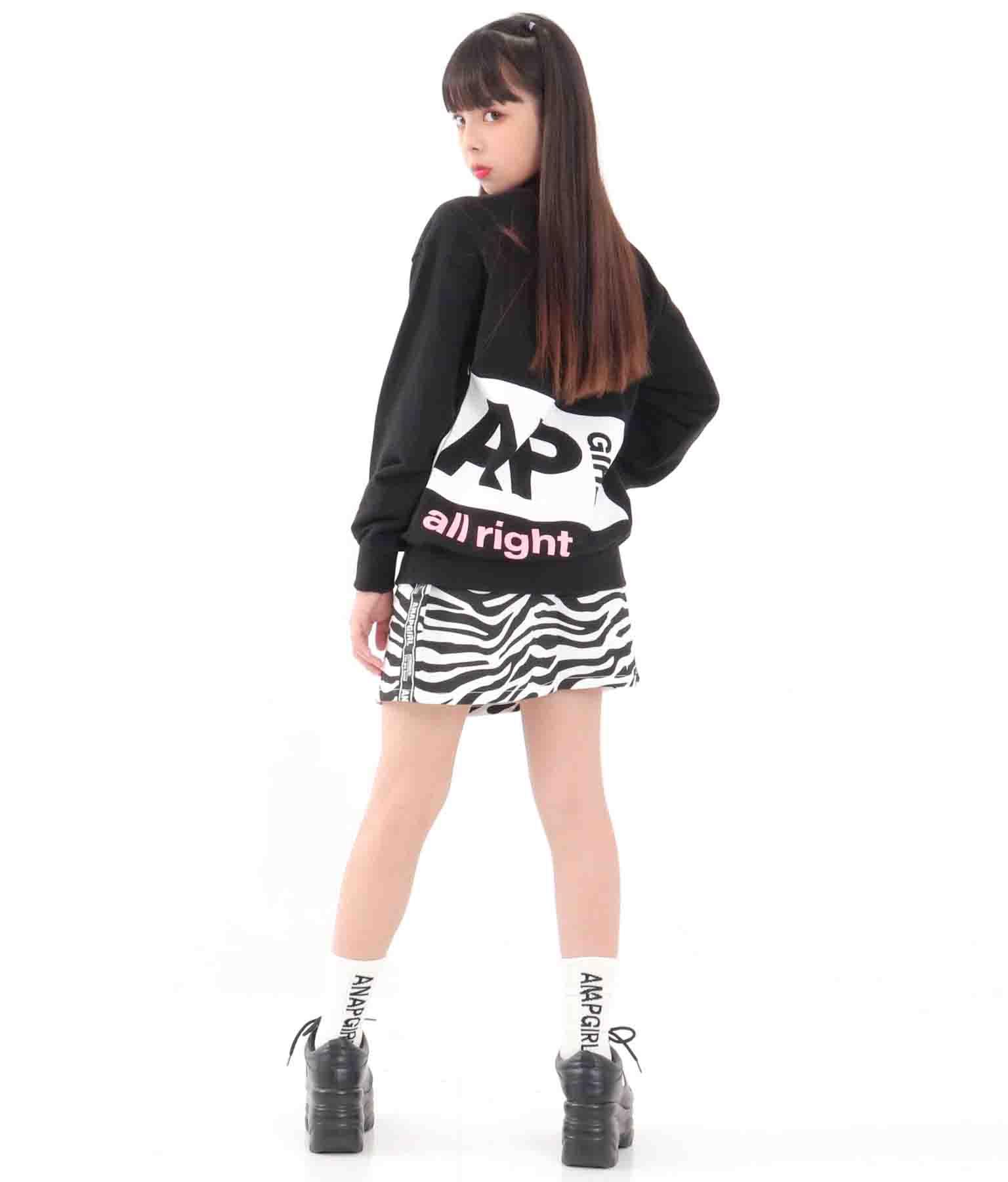 リブショート丈ソックス(ファッション雑貨/ソックス・靴下)   ANAP GiRL