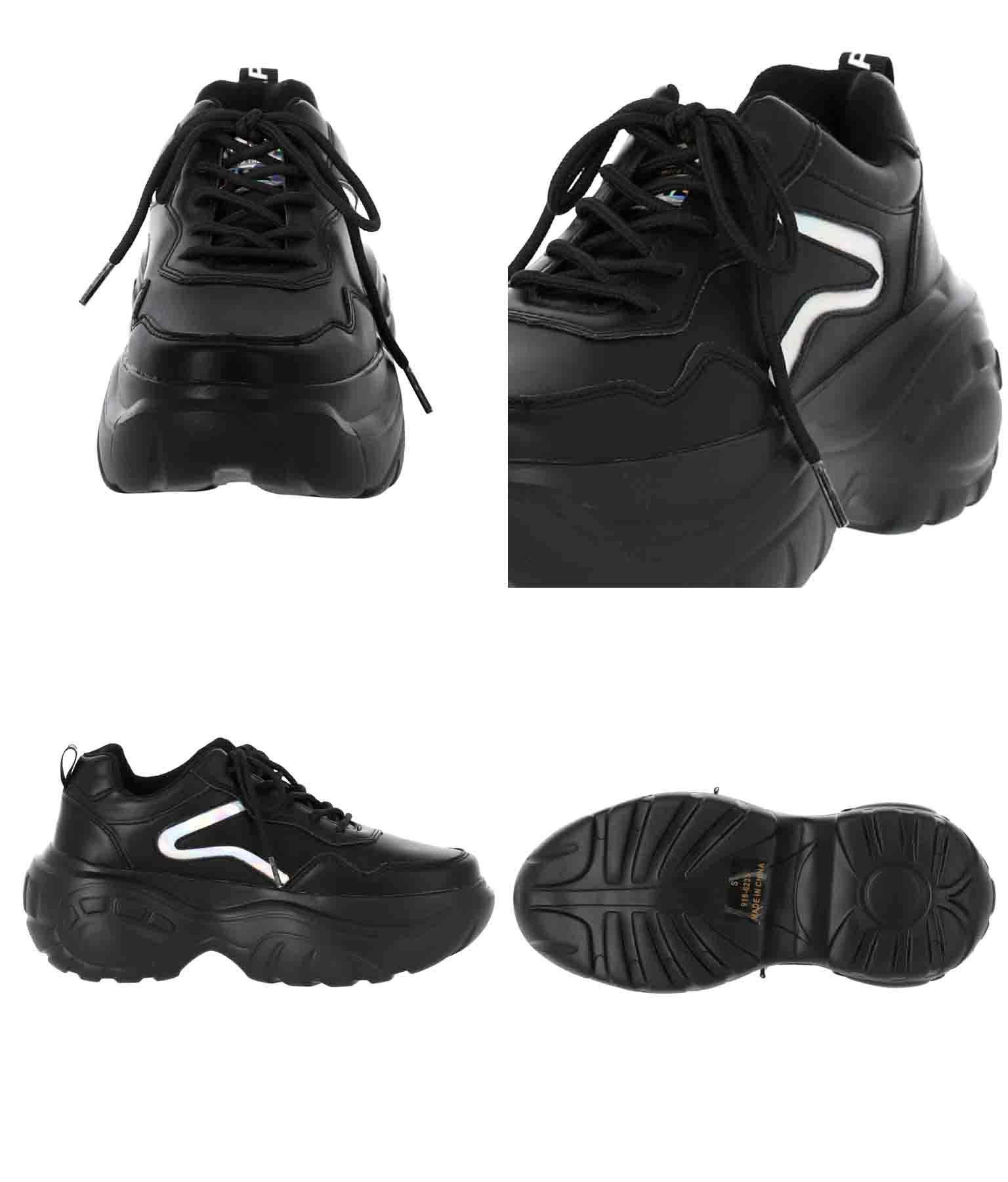 ホログラムライン厚底スニーカー(シューズ・靴/スニーカー) | ANAP GiRL