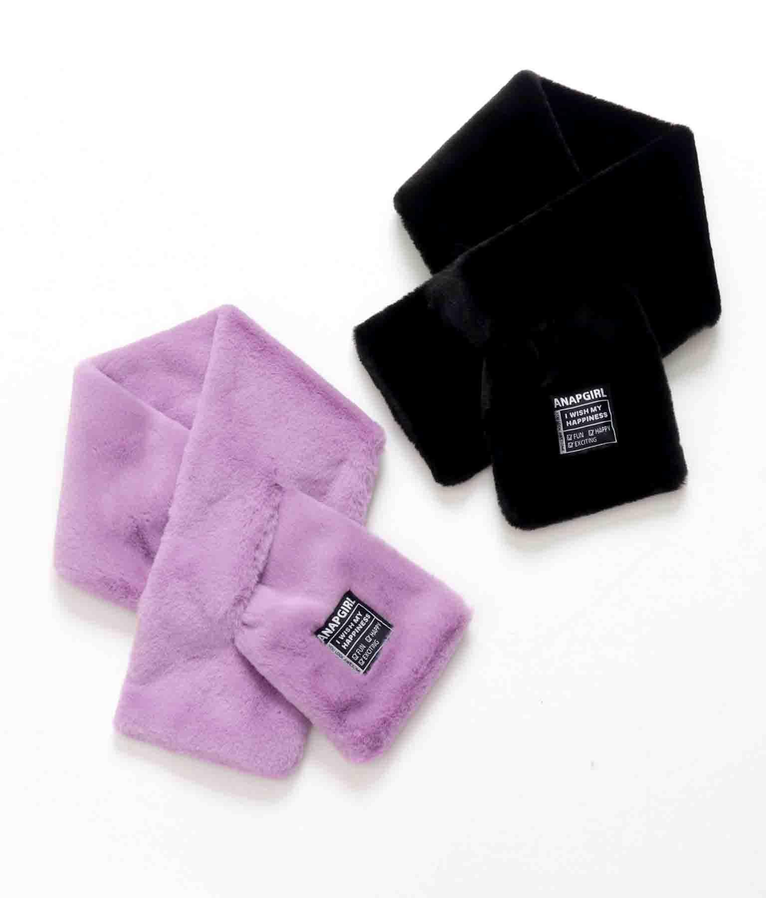 チケット付きフェイクファーマフラー(ファッション雑貨/マフラー・ストール ・スヌード・スカーフ )   ANAP GiRL