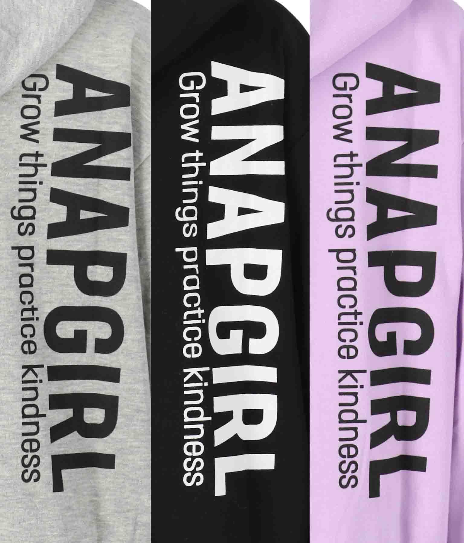 スウェットバックロゴパーカー(トップス/スウェット・トレーナー) | ANAP GiRL