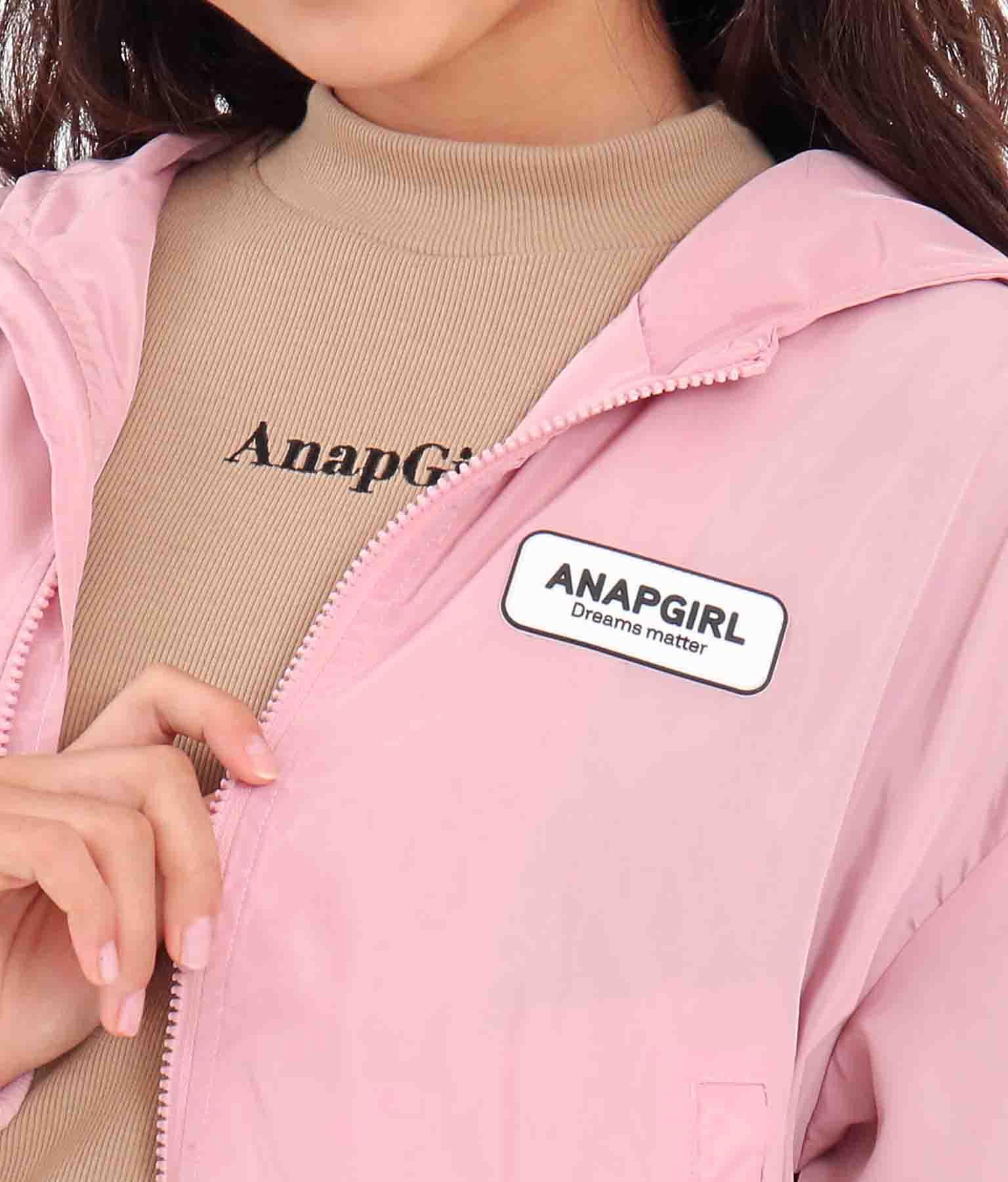 フード付袖切替ブルゾン(アウター(コート・ジャケット) /ジャケット・ブルゾン) | ANAP GiRL