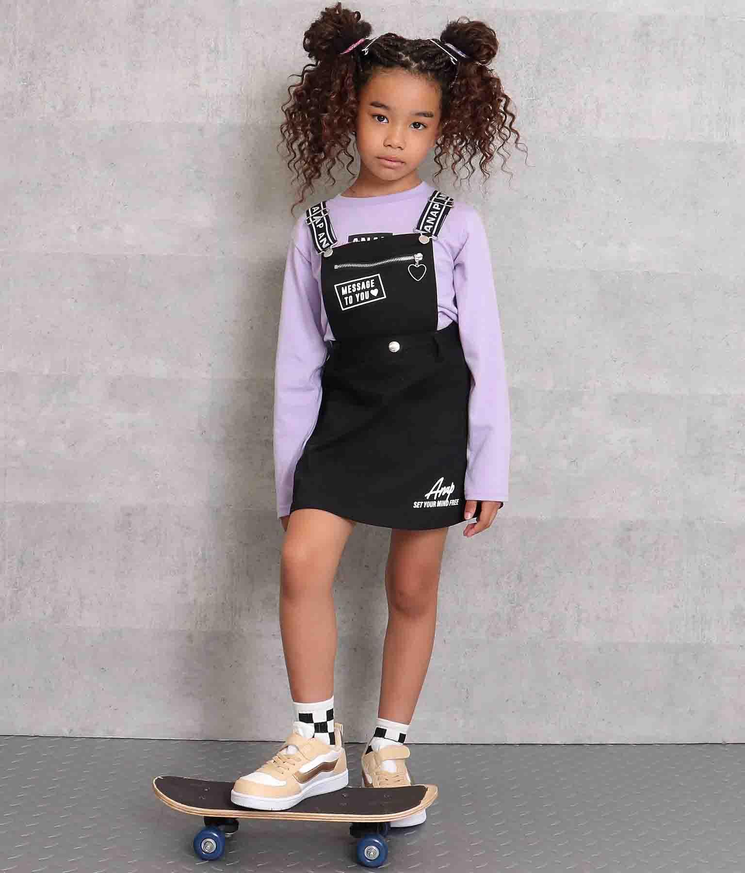 2WAYジャンパースカート(ワンピース・ドレス/サロペット/オールインワン) | ANAP KIDS