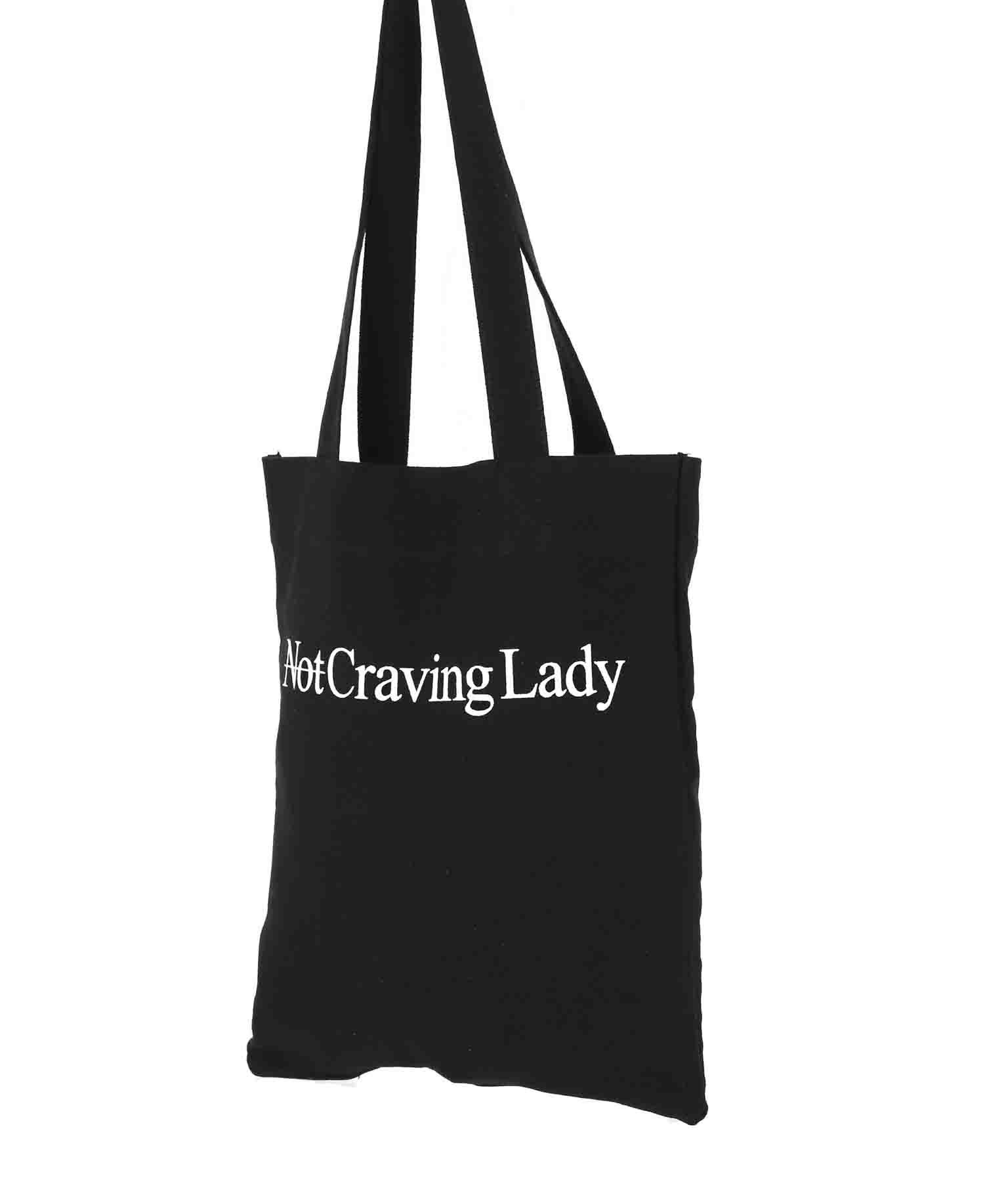 メッセージプリントブラックトート(バッグ・鞄・小物/トートバッグ) | anap Latina
