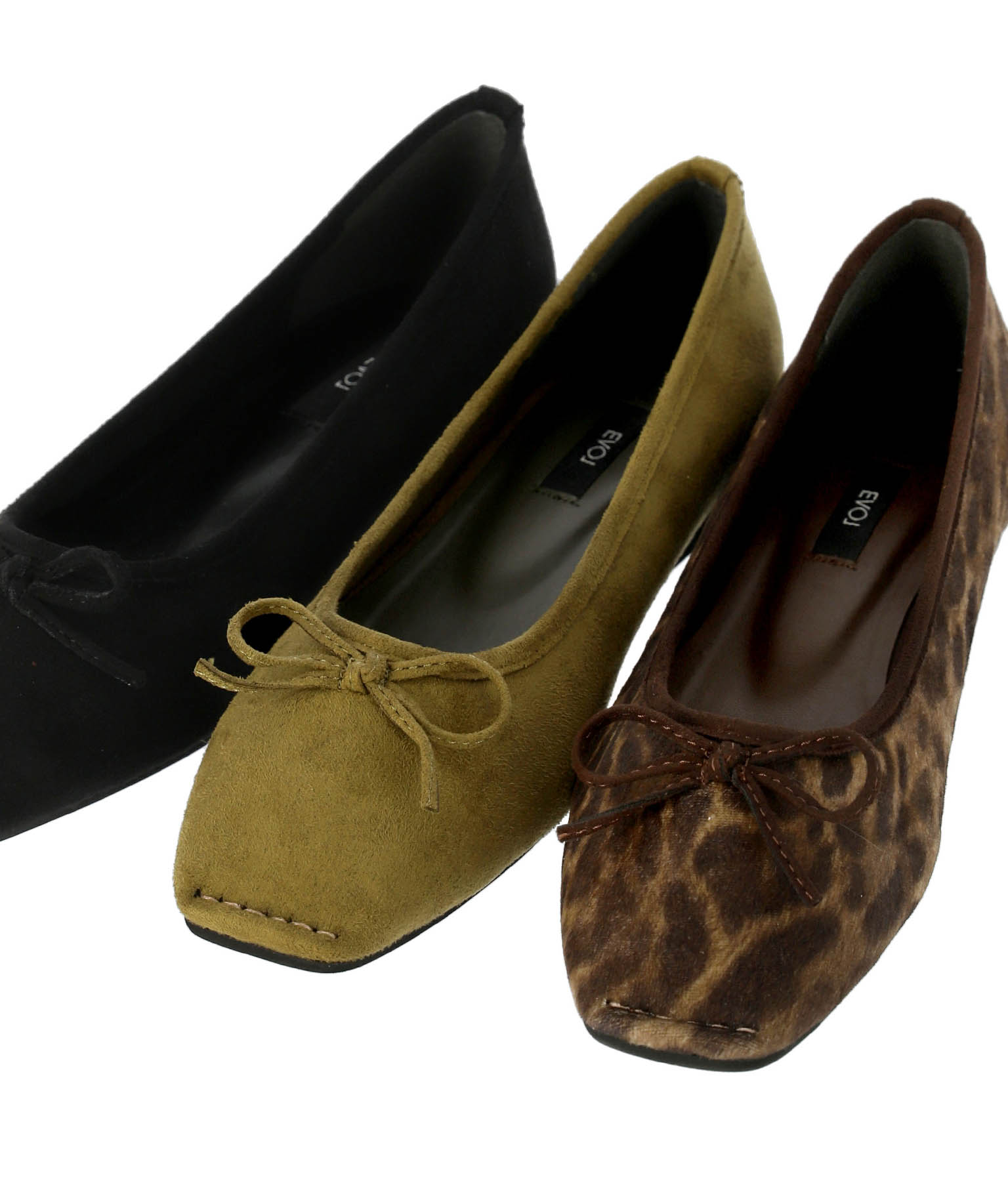 スクエアバレエシューズ(シューズ・靴/パンプス) | Alluge