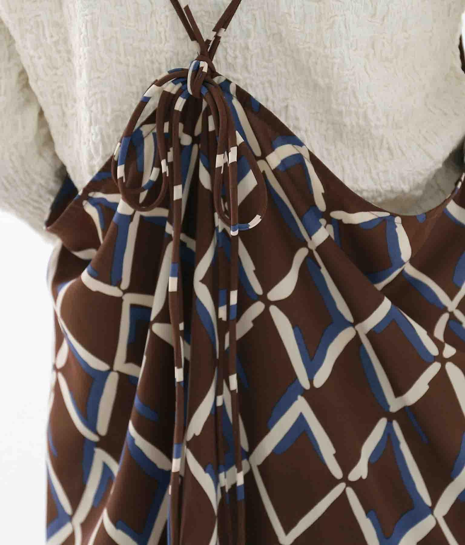ヴィンテージライクキャミソールワンピース(ワンピース・ドレス/ロングワンピ) | Alluge