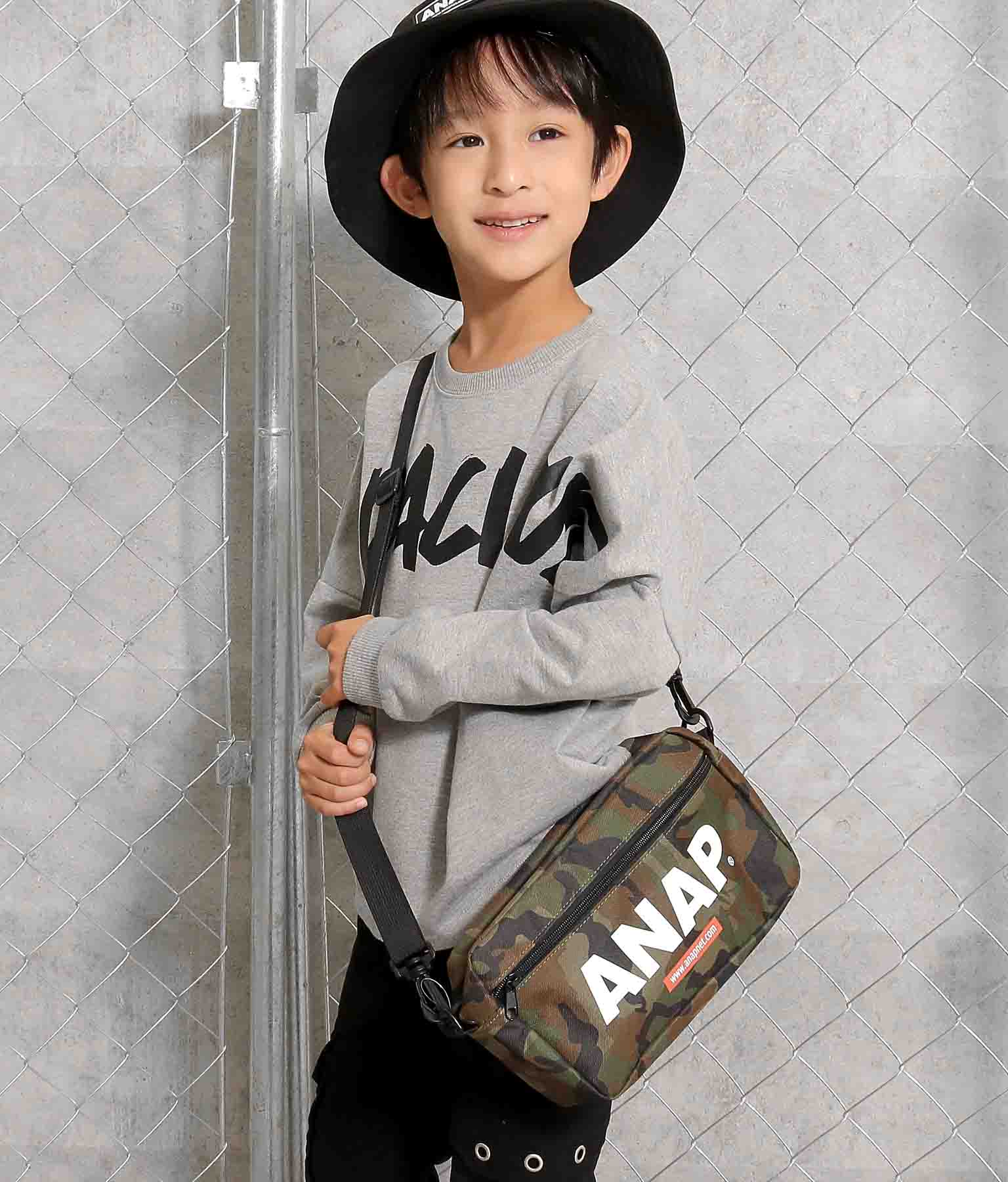 ロゴショルダーバッグ(バッグ・鞄・小物/ショルダーバッグ) | ANAP KIDS
