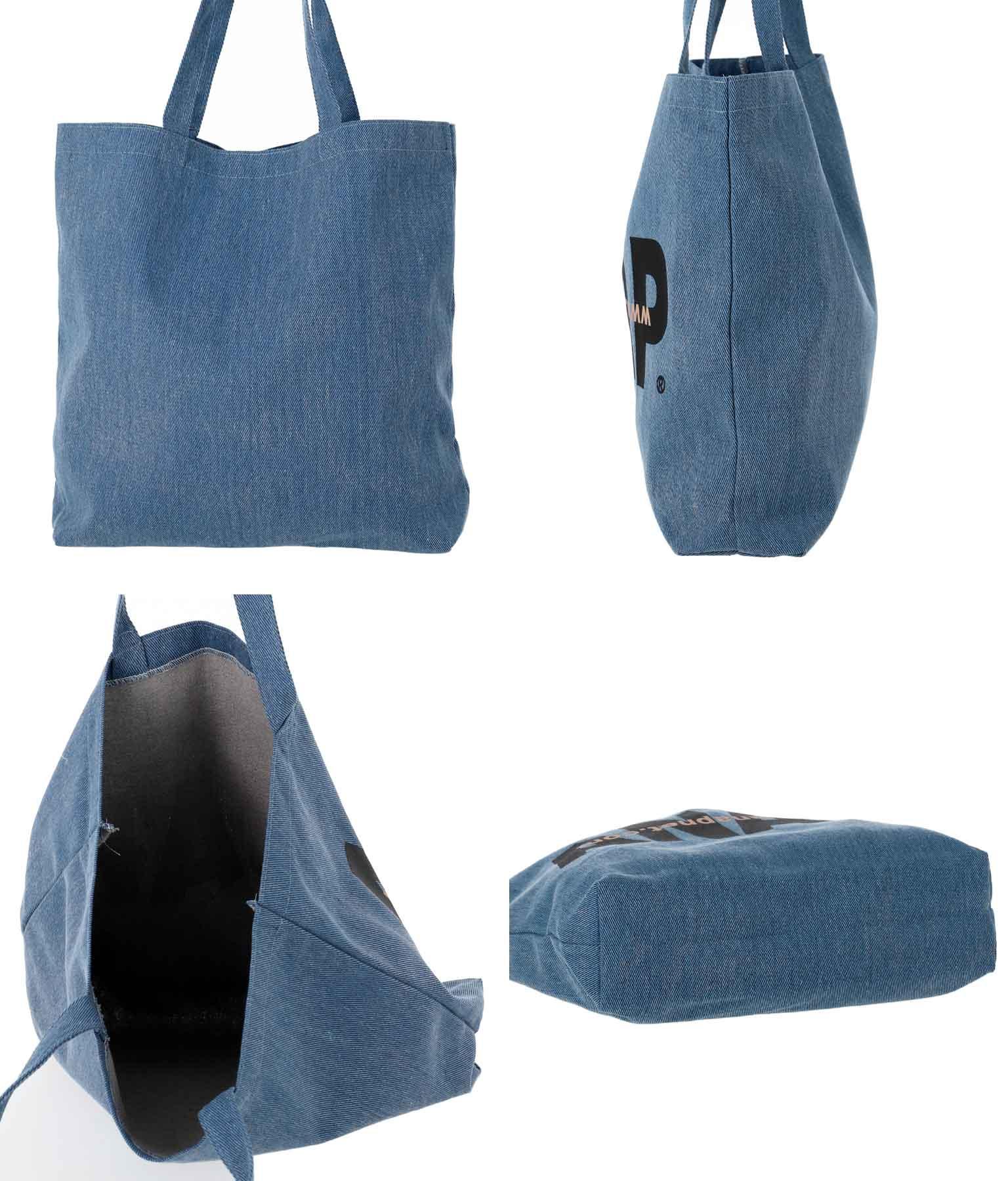 ANAPロゴデニム風バッグ(バッグ・鞄・小物/トートバッグ) | ANAP