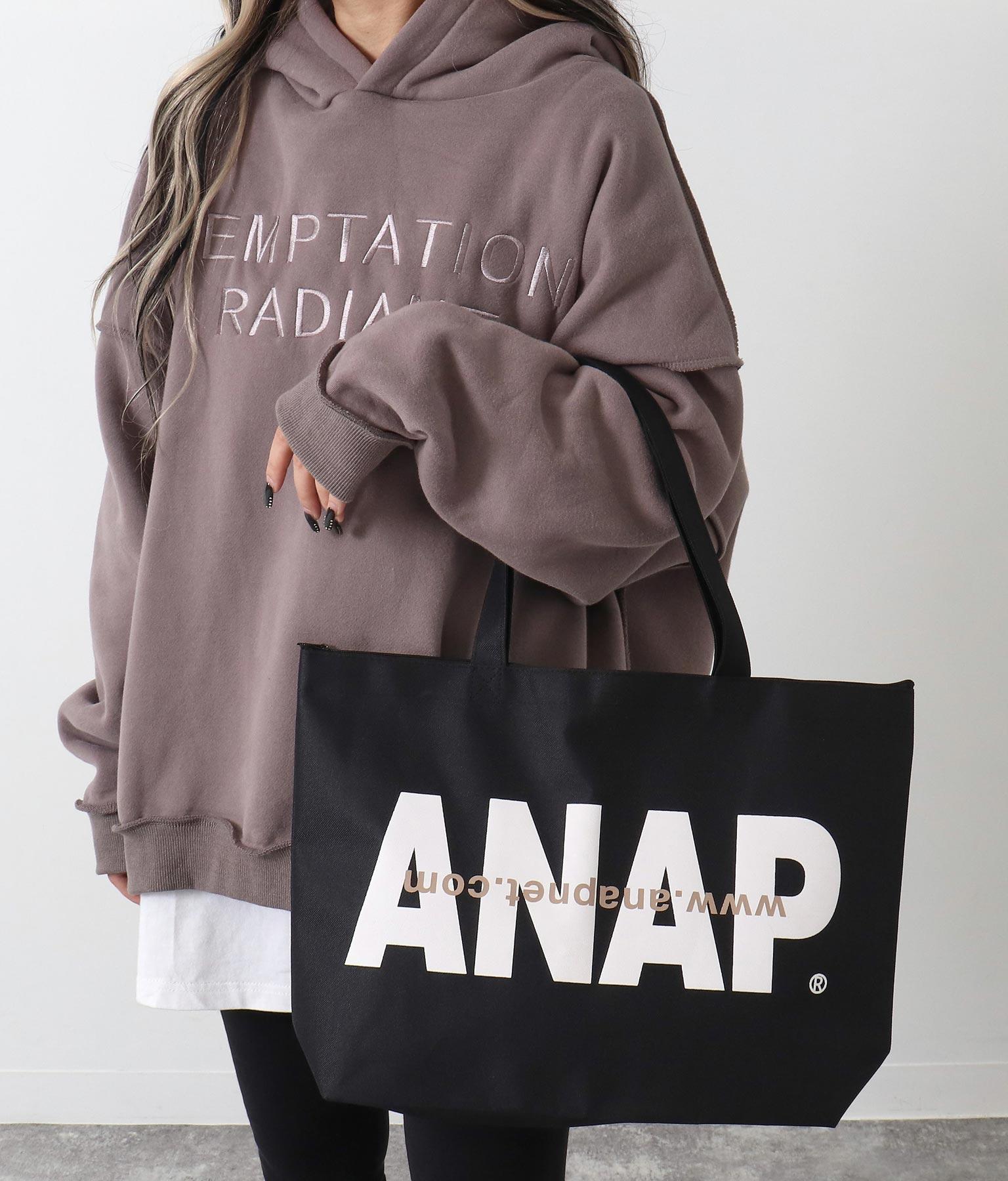 ANAP ANAPロゴトートバッグ