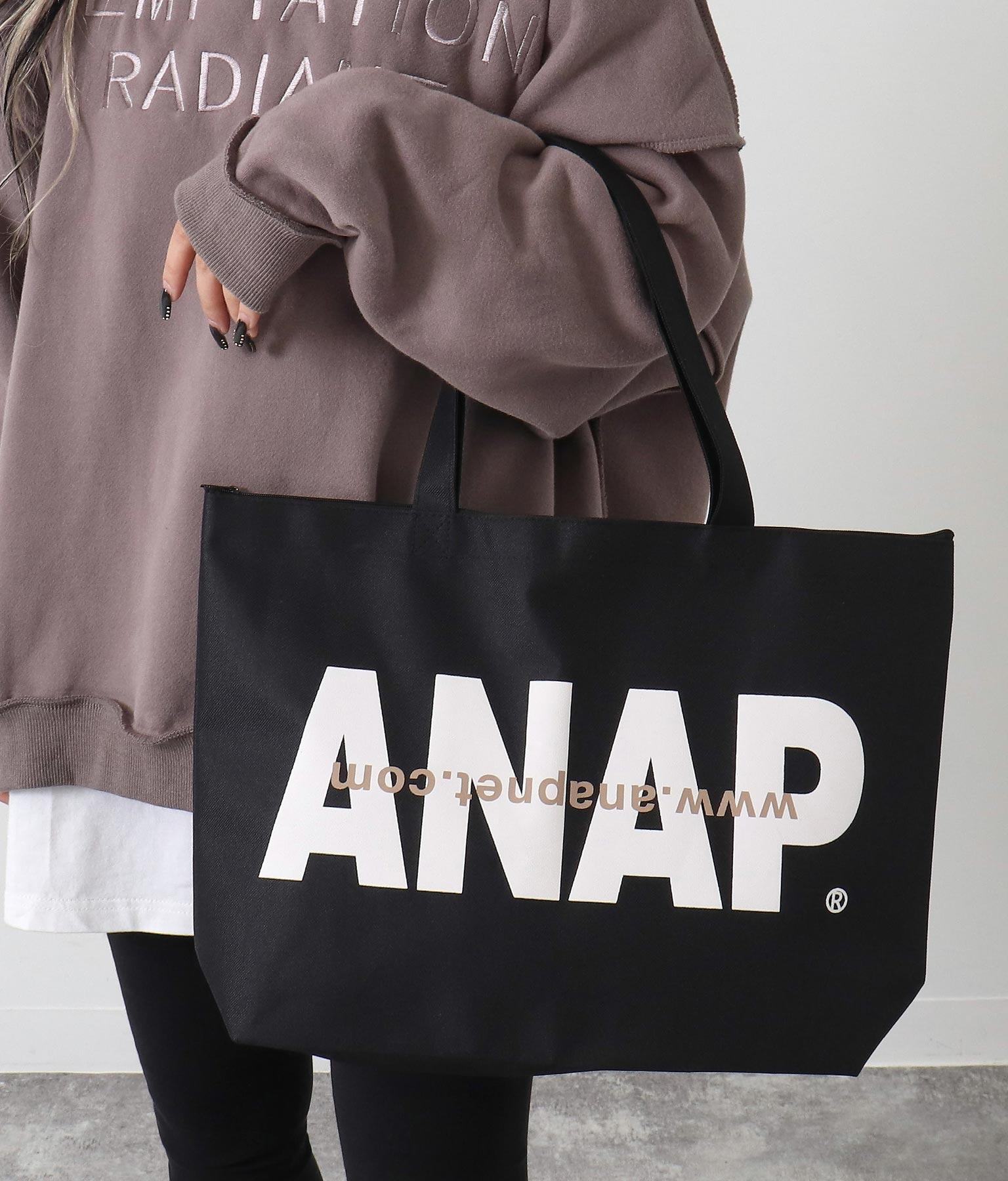 ANAPロゴトートバッグ