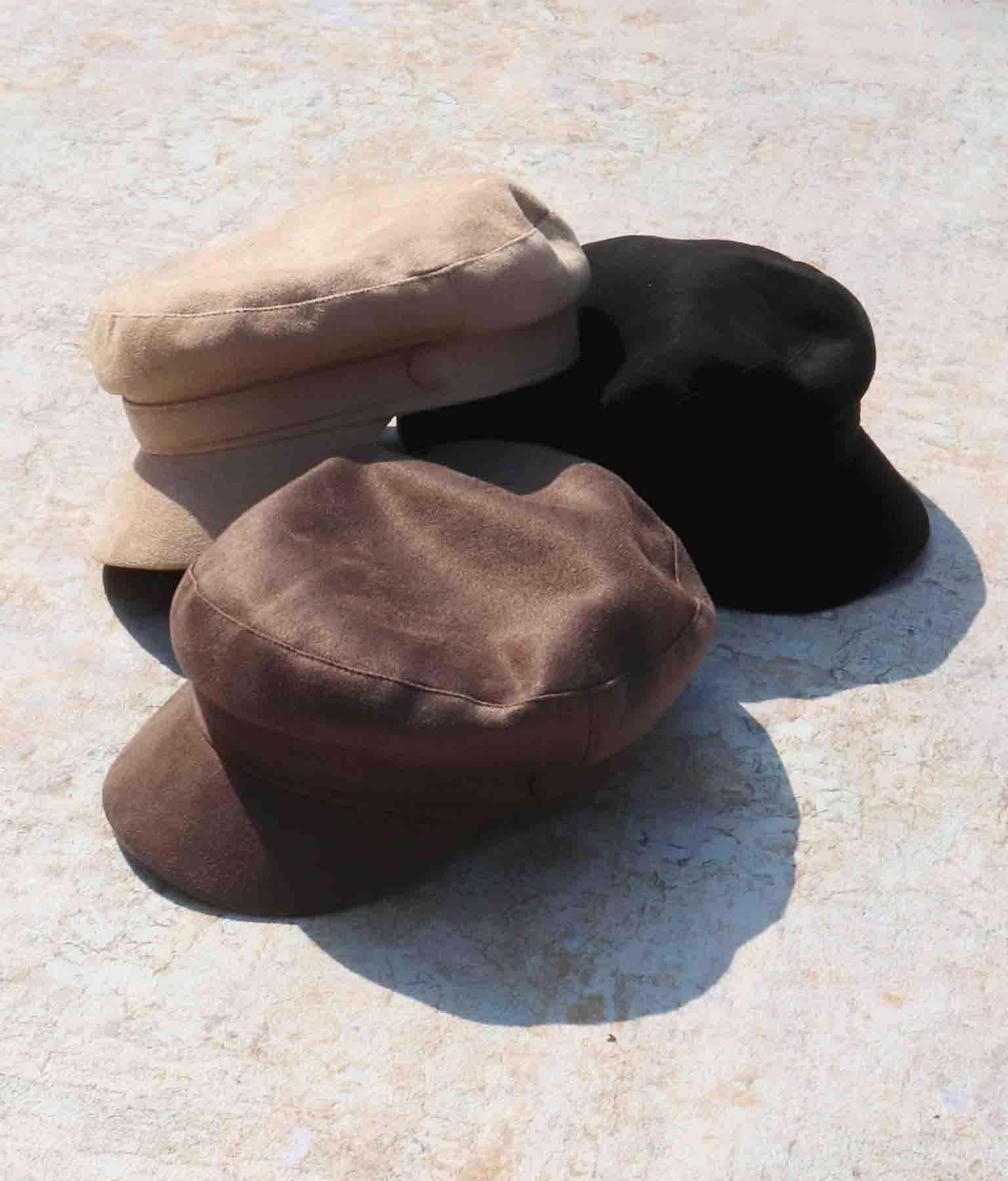 フェイクスエードキャスケット(ファッション雑貨/ハット・キャップ・ニット帽 ・キャスケット・ベレー帽) | ANAP