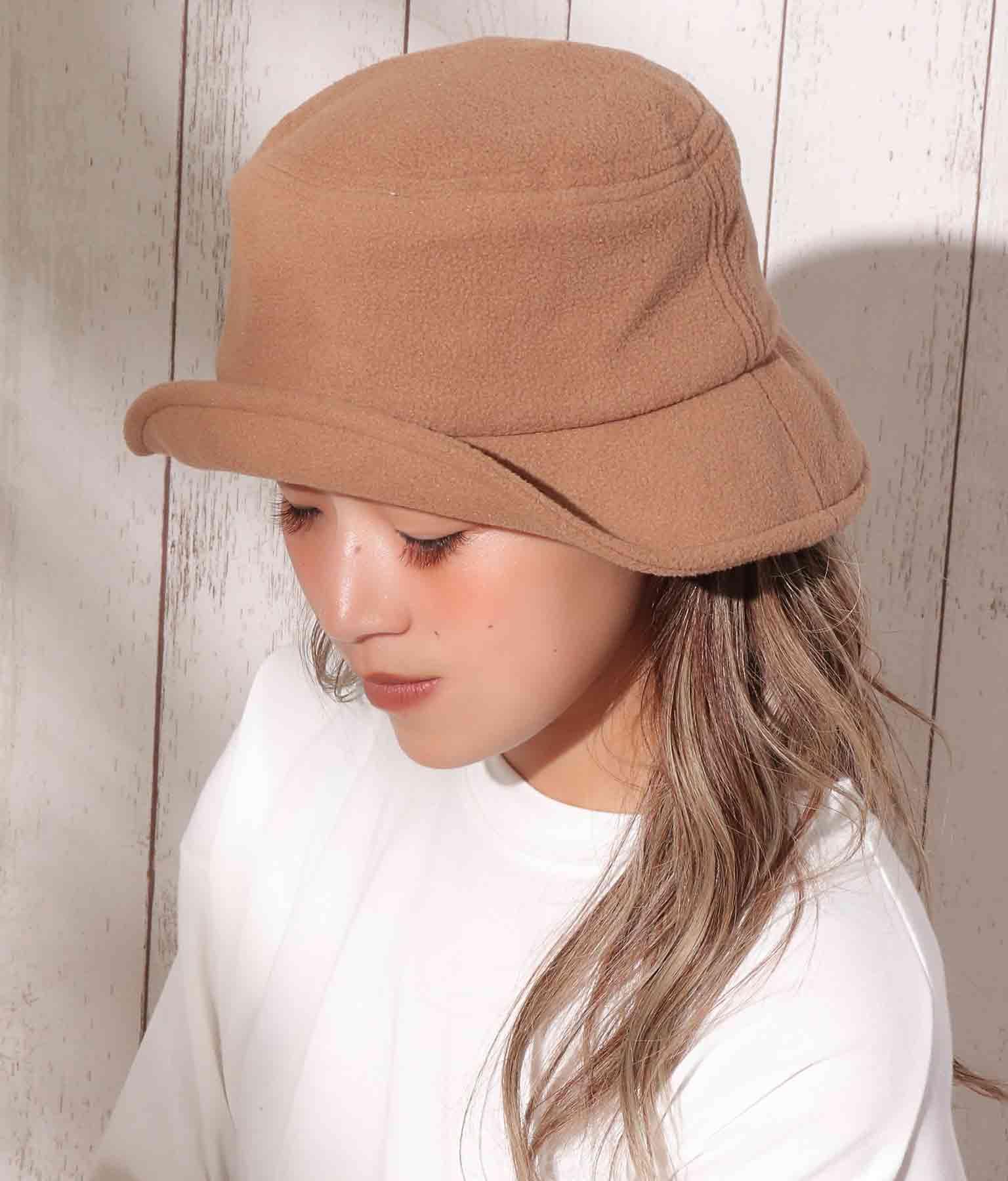 フリース素材バケットハット(ファッション雑貨/ハット・キャップ・ニット帽 ・キャスケット・ベレー帽)   anap mimpi