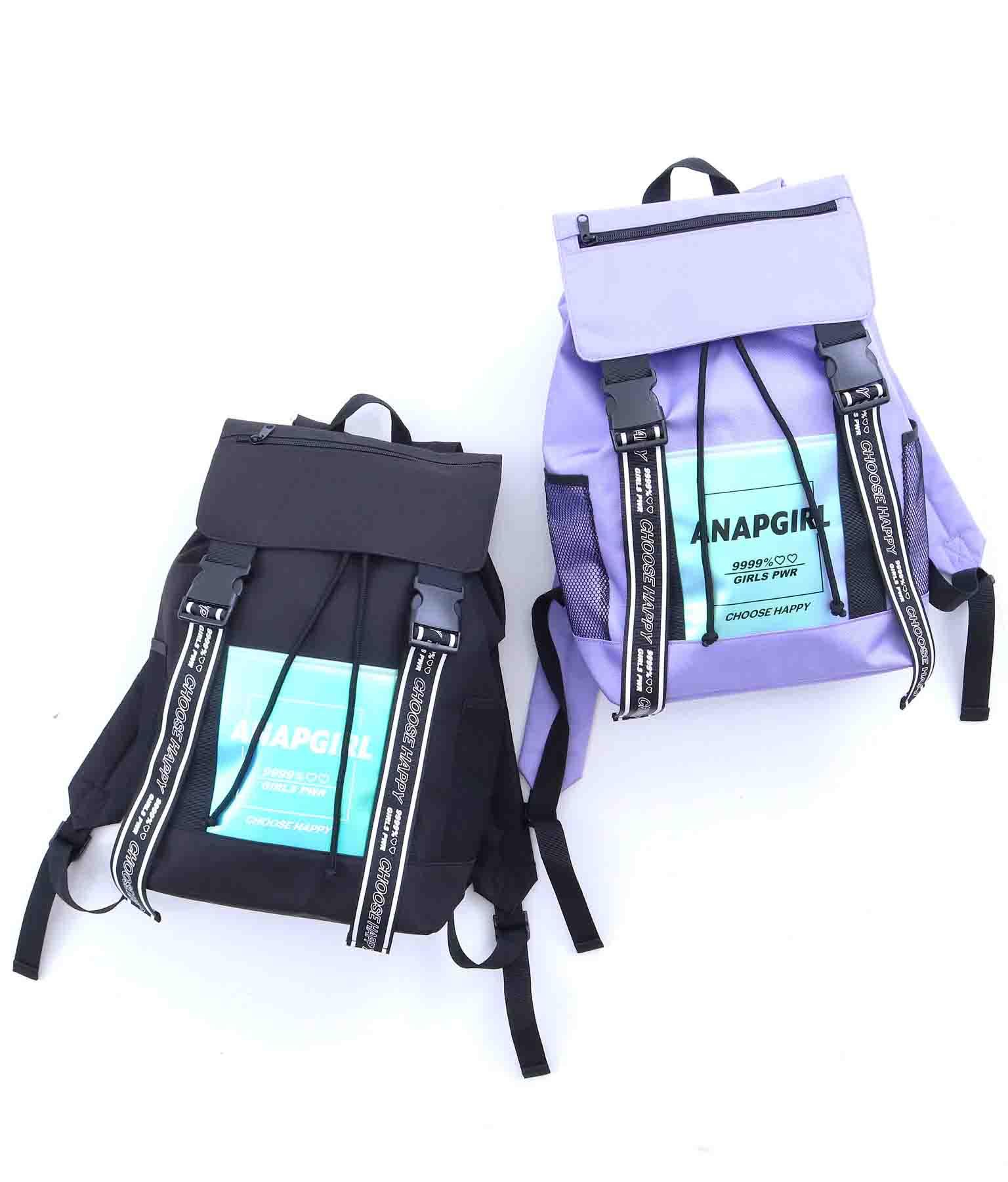 ホログラムポケット付リュック(バッグ・鞄・小物/バックパック・リュック) | ANAP GiRL