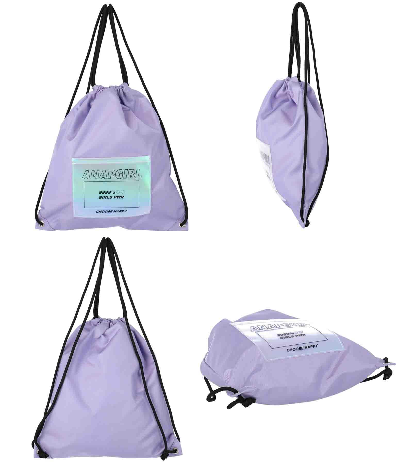 ホログラムポケット付ナップサック(バッグ・鞄・小物/バックパック・リュック) | ANAP GiRL
