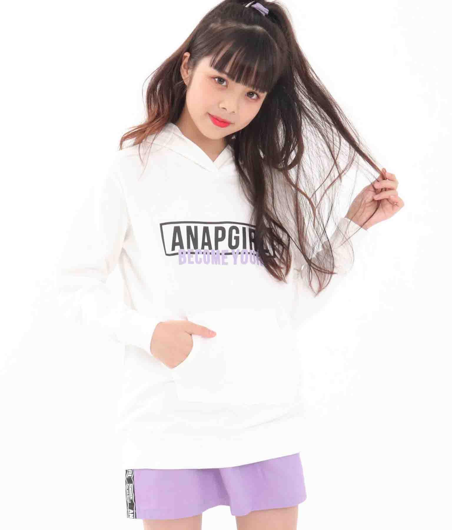 ボックスロゴフーディーワンピース(ワンピース・ドレス/ミニワンピ)   ANAP GiRL