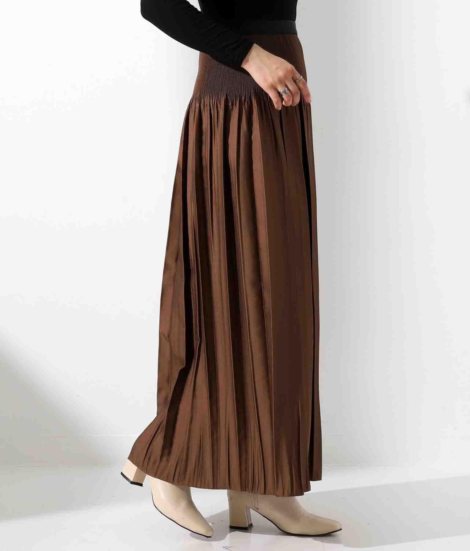 DollySeanジャガード細プリーツスカート(ボトムス・パンツ /スカート) | Settimissimo