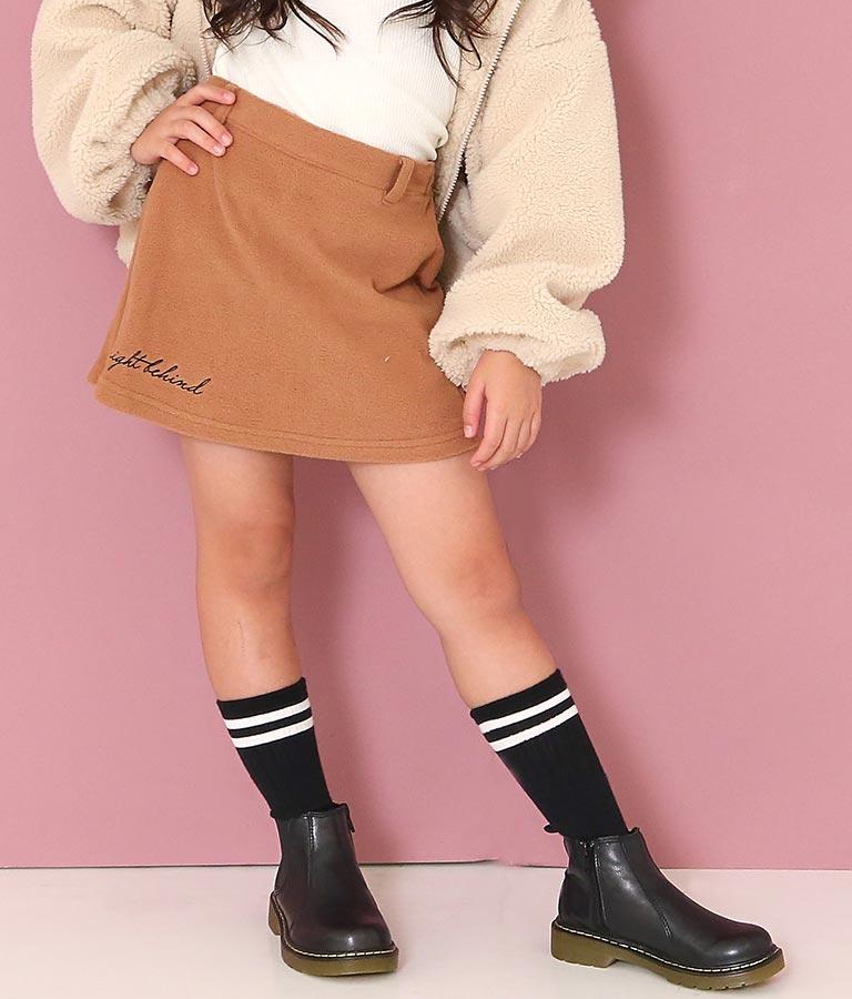 刺繍入り起毛スカパン(ボトムス・パンツ /ショートパンツ・スカート)   ANAP KIDS
