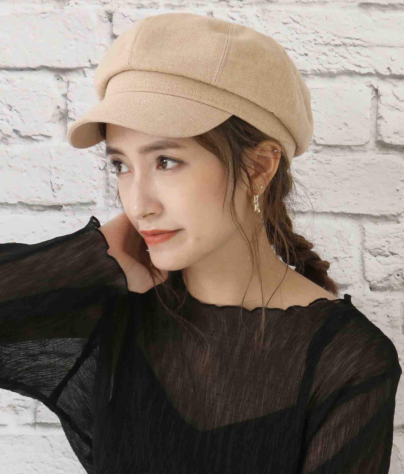 MIXツイードキャスケットキャップ(ファッション雑貨/ハット・キャップ・ニット帽 ・キャスケット・ベレー帽) | CHILLE
