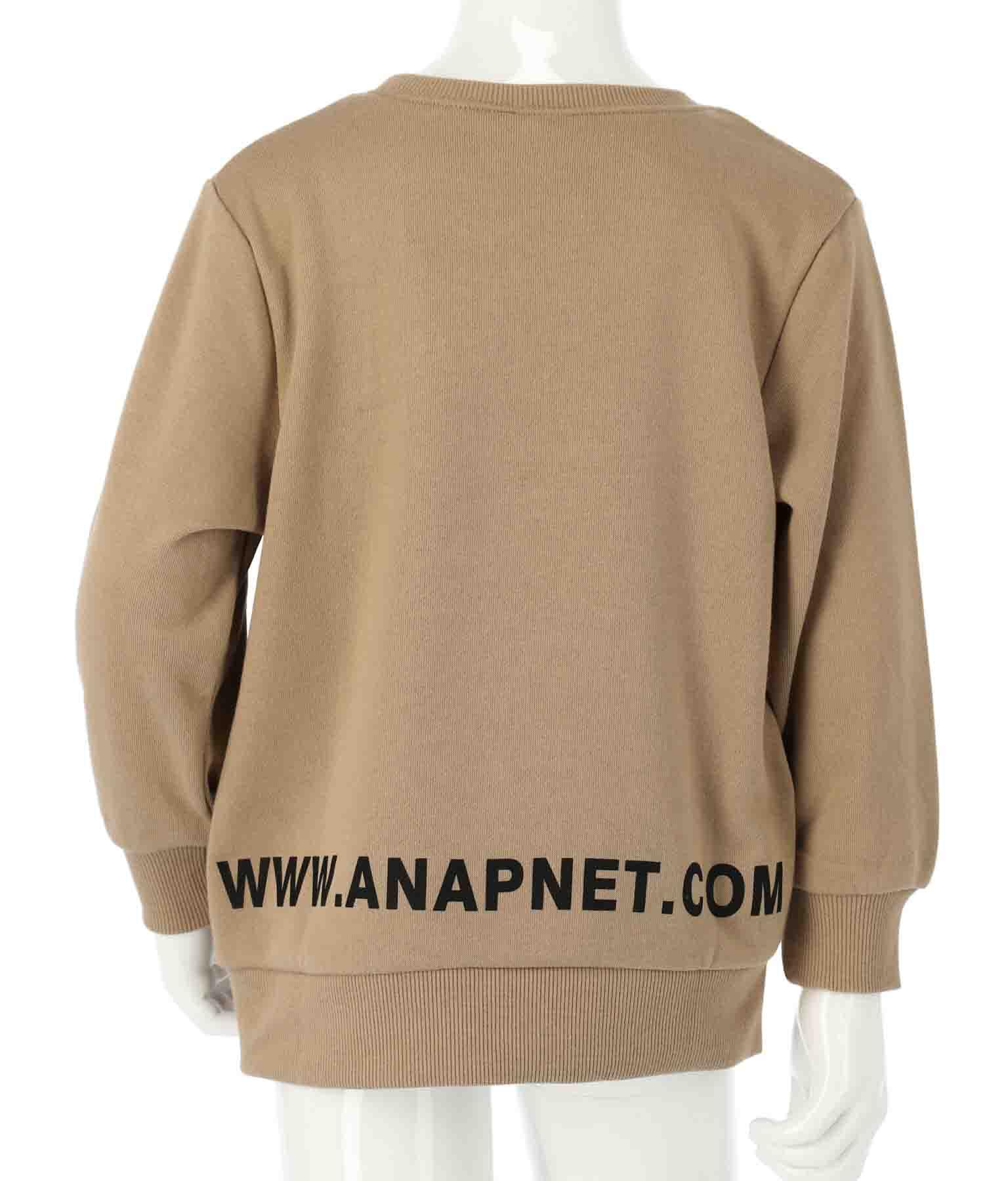 ワンポイント刺繍トレーナー | ANAP KIDS