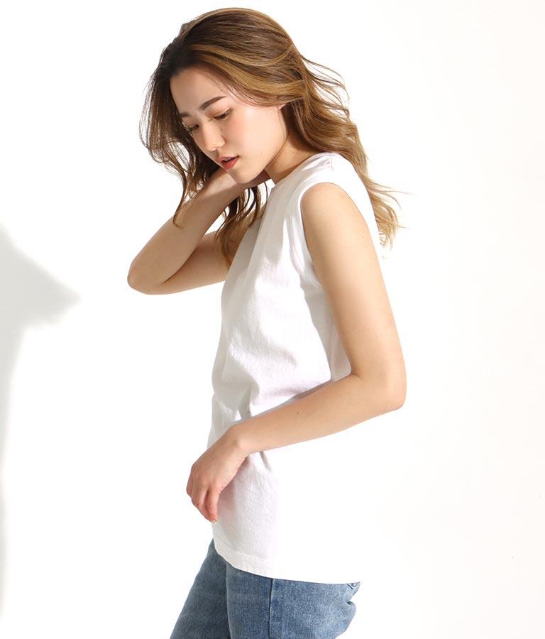 2P japan fit for her スリーブレスTシャツ(トップス/タンクトップ) | Champion