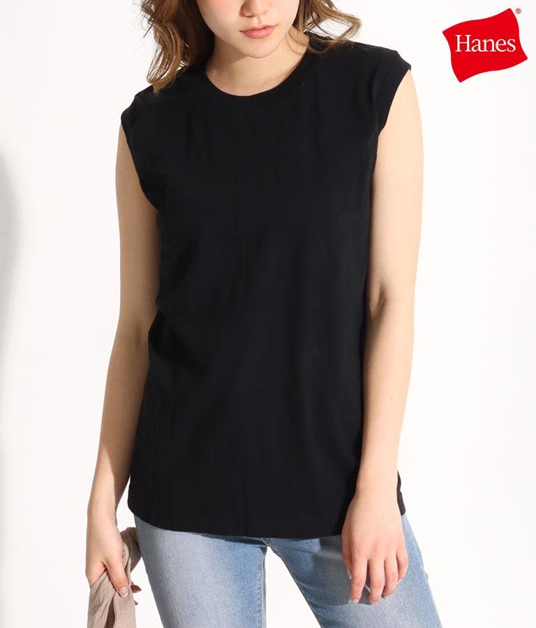 2P japan fit for her スリーブレスTシャツ