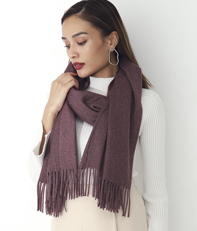 シルクタッチ大判ストール(ファッション雑貨/マフラー・ストール ・スヌード・スカーフ ) | Settimissimo