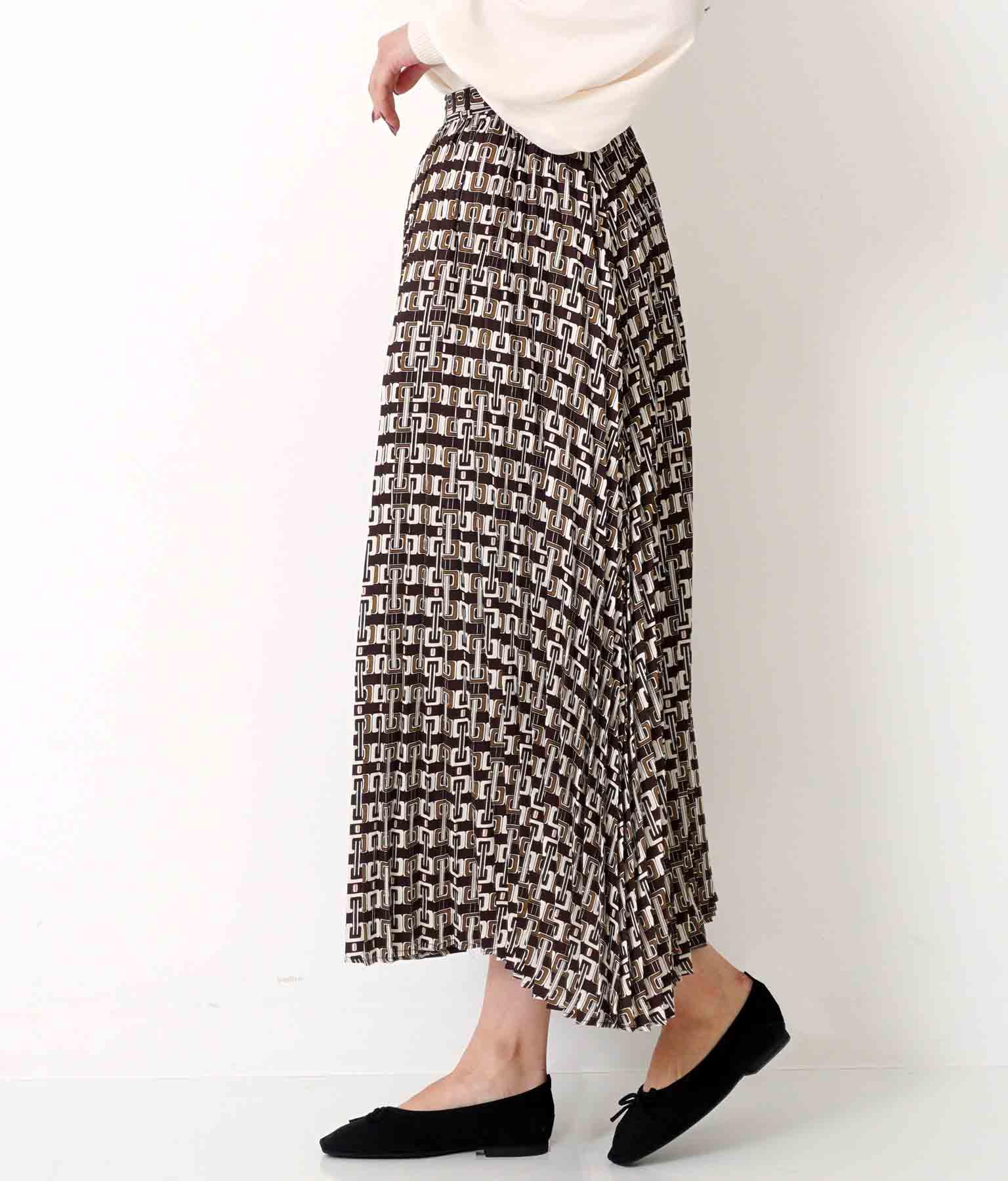 ビンテージパターンプリーツスカート(ボトムス・パンツ /スカート)   Alluge