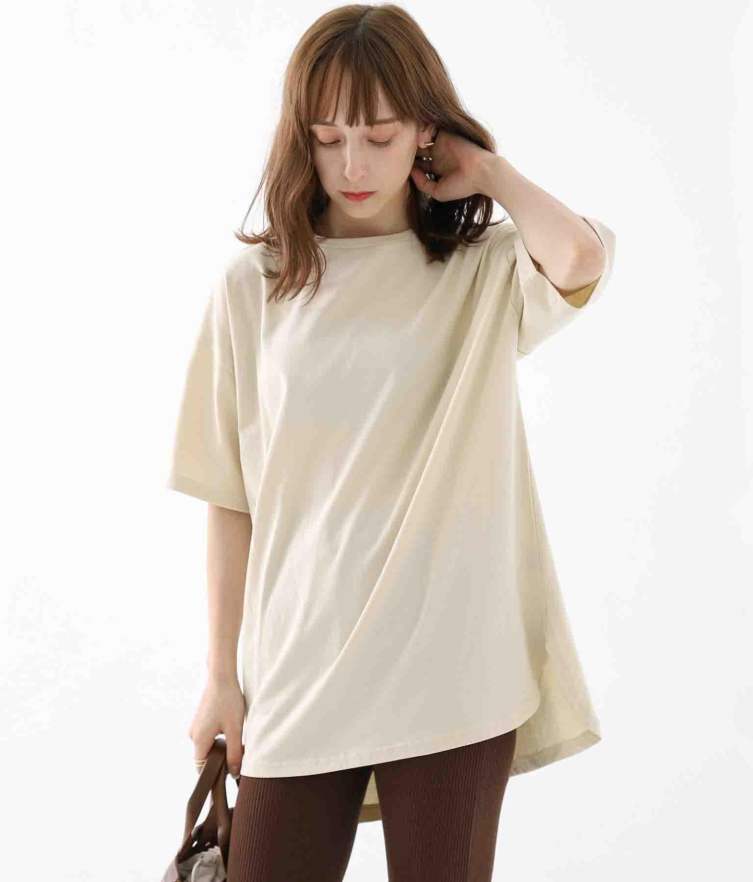 バックプリントTシャツ | Alluge