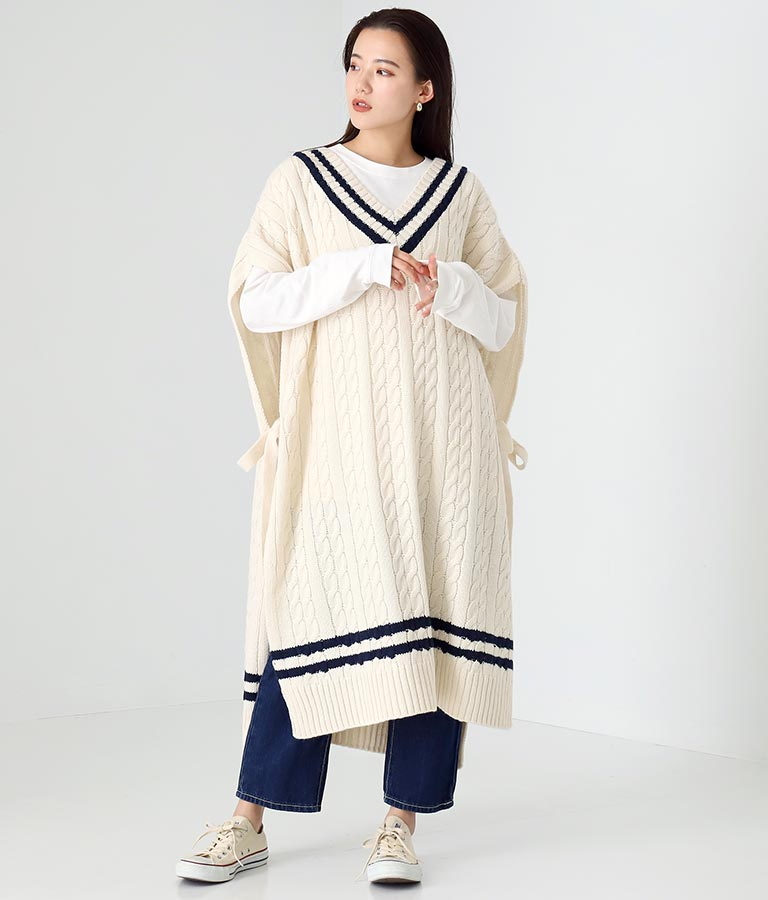 チルデンニットワンピース(ワンピース・ドレス/ロングワンピ) | Alluge